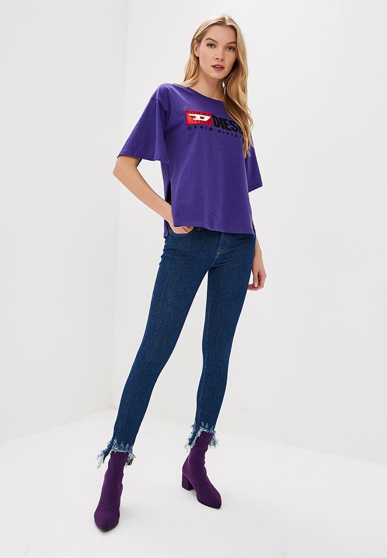 Зауженные джинсы Diesel (Дизель) 00SXJN: изображение 2