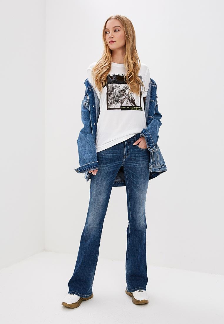 Широкие и расклешенные джинсы Diesel (Дизель) 00SMMV: изображение 2