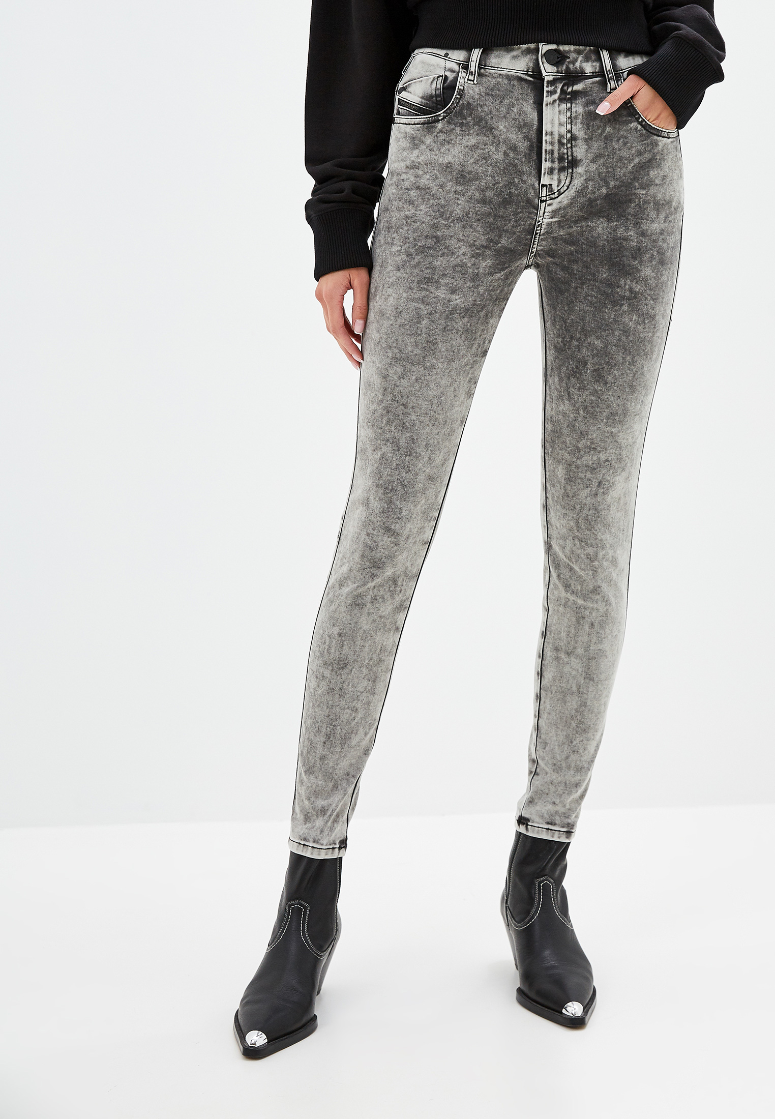 Зауженные джинсы Diesel (Дизель) 00SMLX