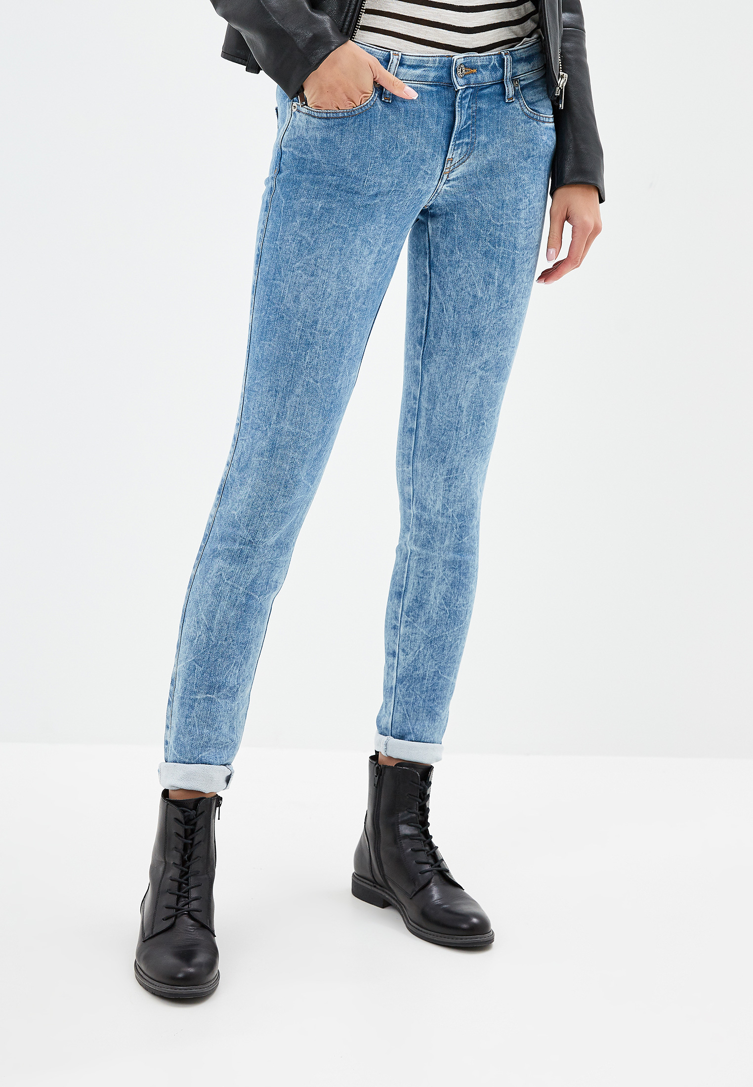 Зауженные джинсы Diesel (Дизель) 00SYL6