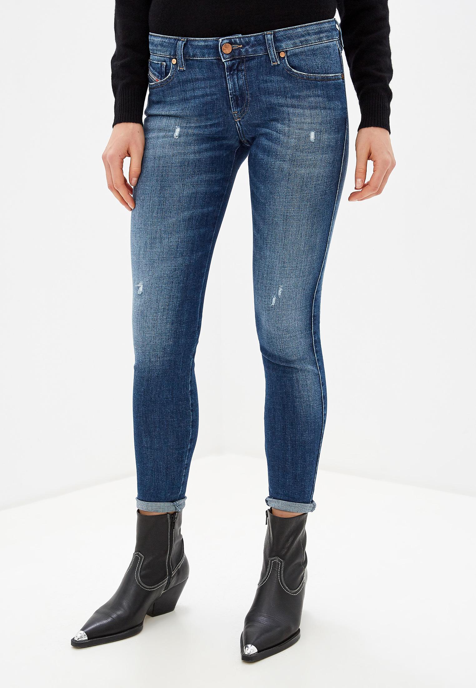 Зауженные джинсы Diesel (Дизель) 00S0DV084QJ