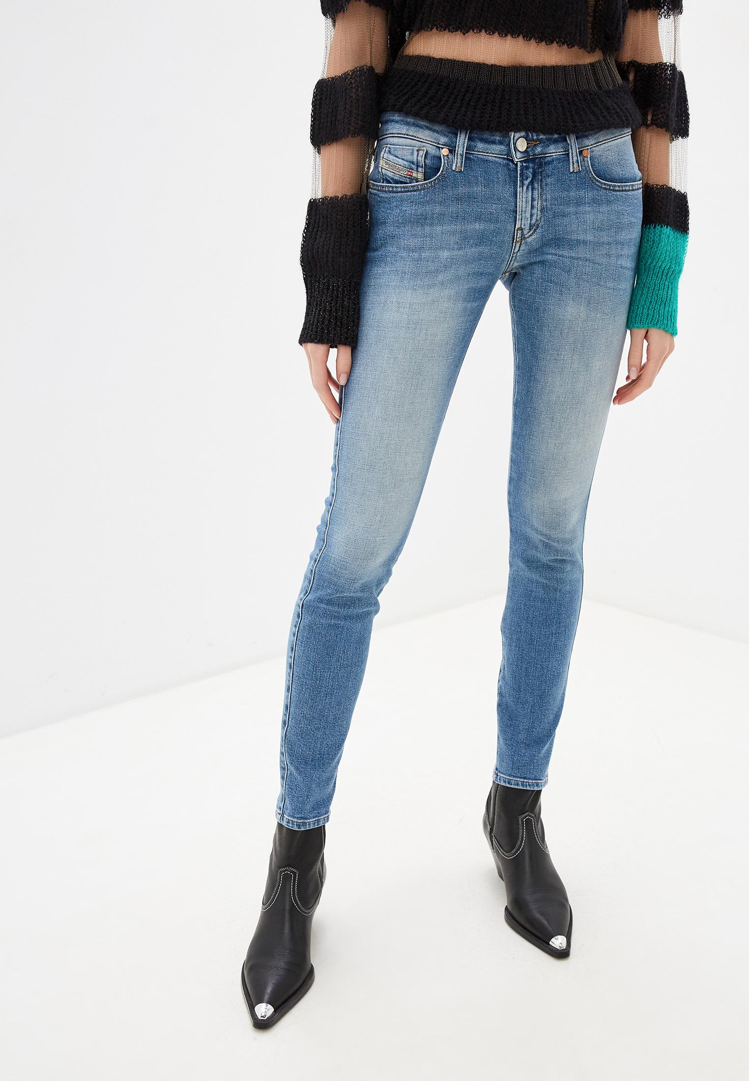 Зауженные джинсы Diesel (Дизель) 00S0DW084VD
