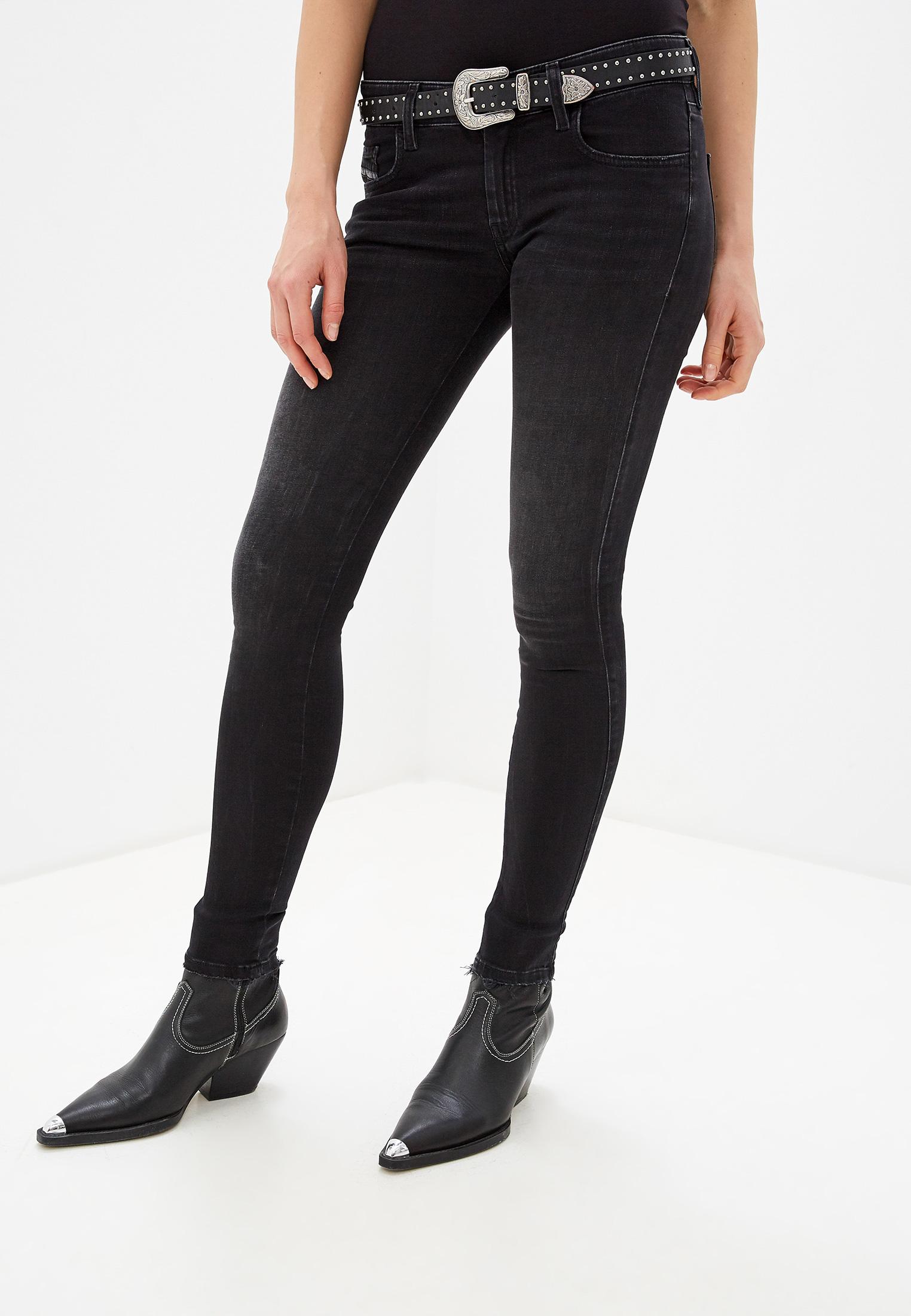 Зауженные джинсы Diesel (Дизель) 00SGSQ069BU: изображение 1