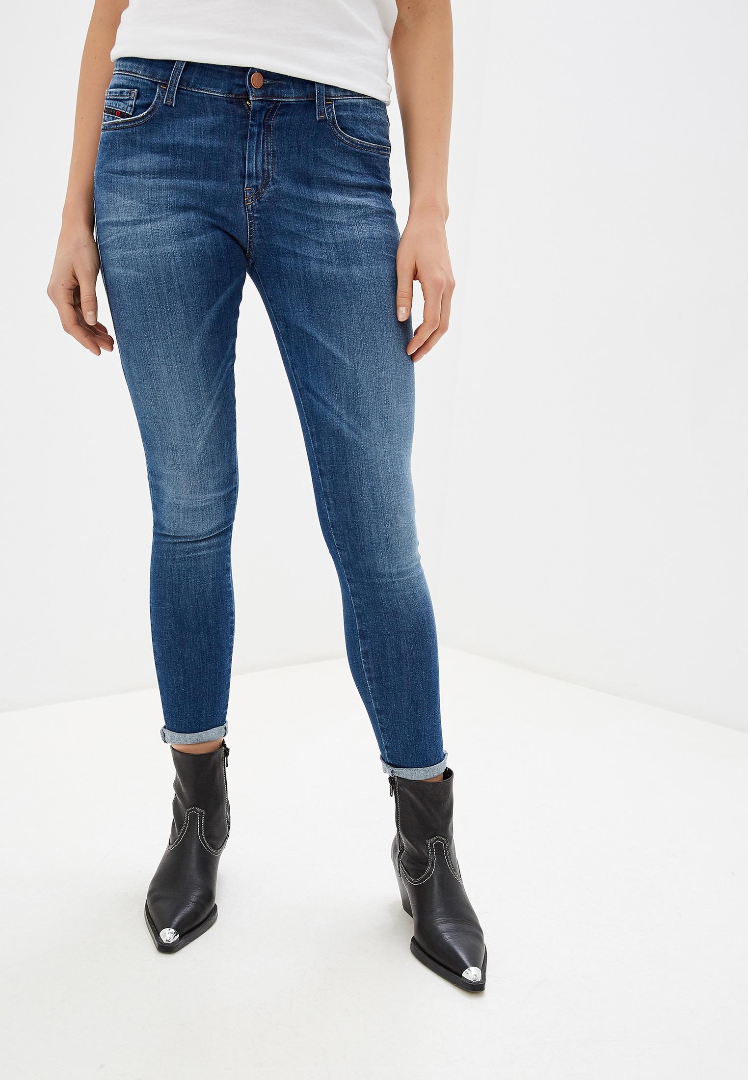 Зауженные джинсы Diesel (Дизель) 00SXJM0826F