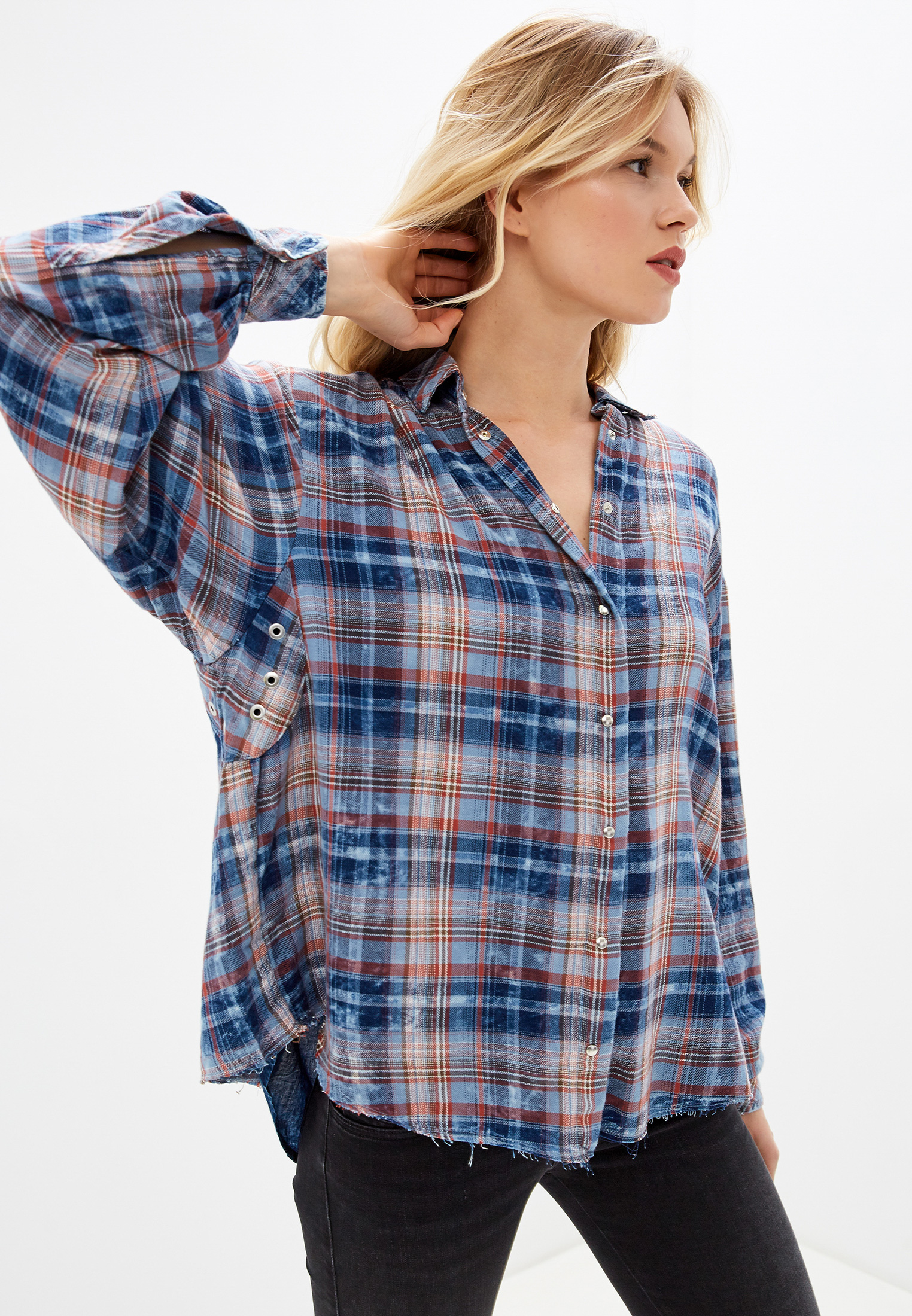 Женские рубашки с длинным рукавом Diesel (Дизель) 00SIM80NAUL