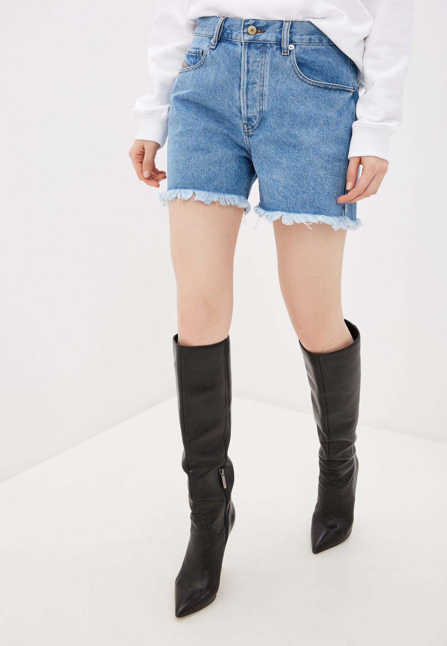 Женские джинсовые шорты Diesel (Дизель) 00SR0N