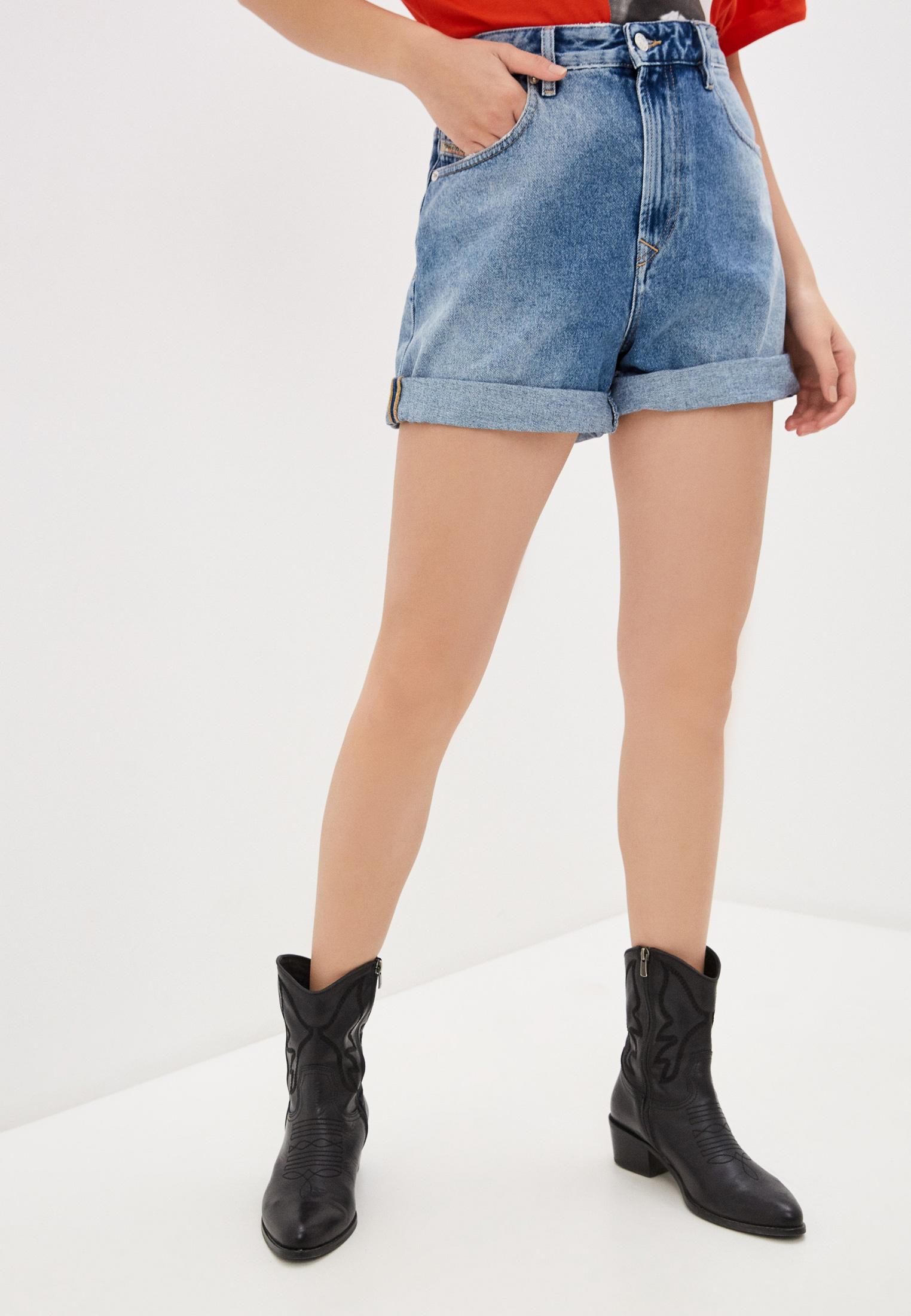 Женские джинсовые шорты Diesel (Дизель) 00SFN7