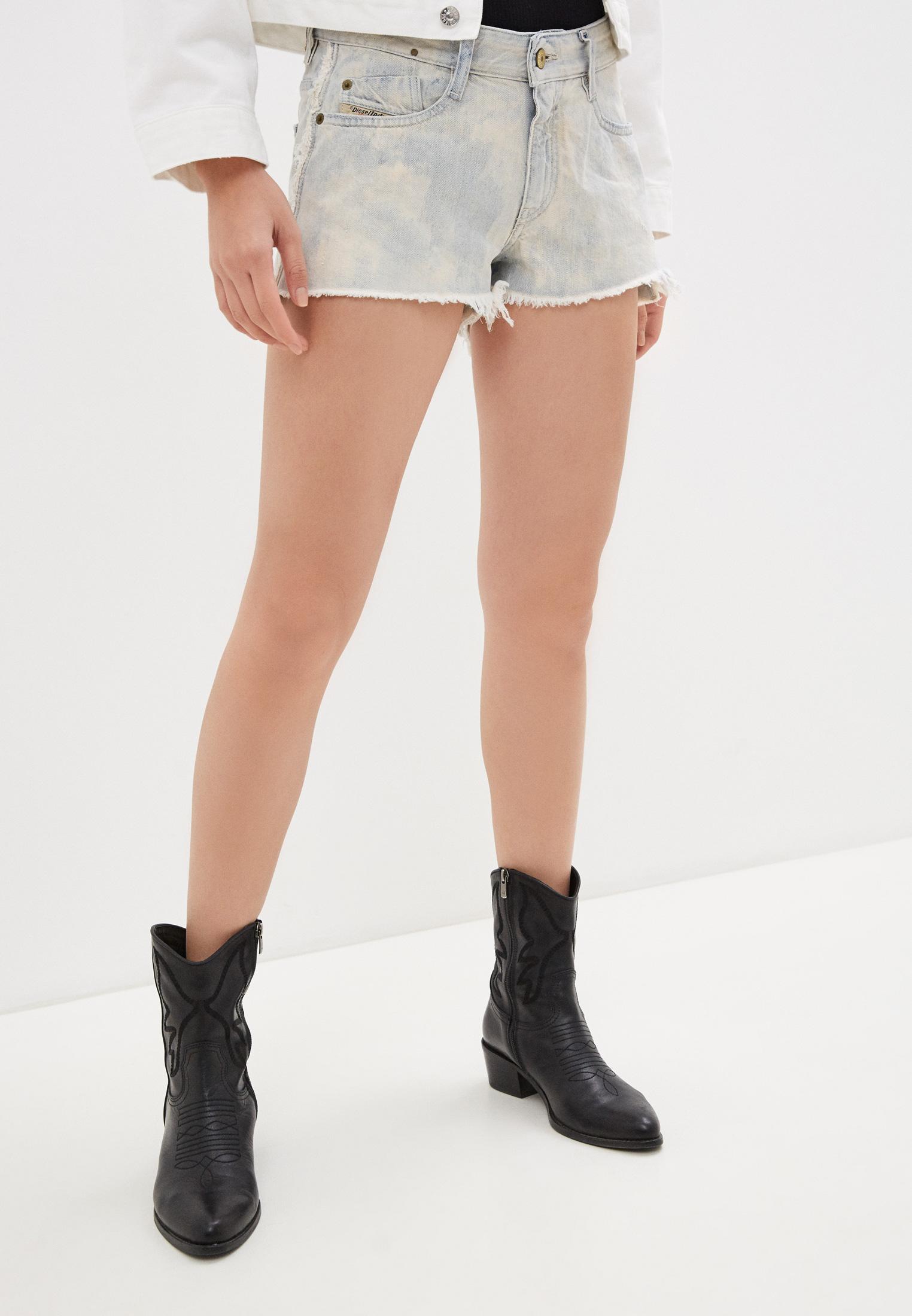 Женские джинсовые шорты Diesel (Дизель) 00SGWJ