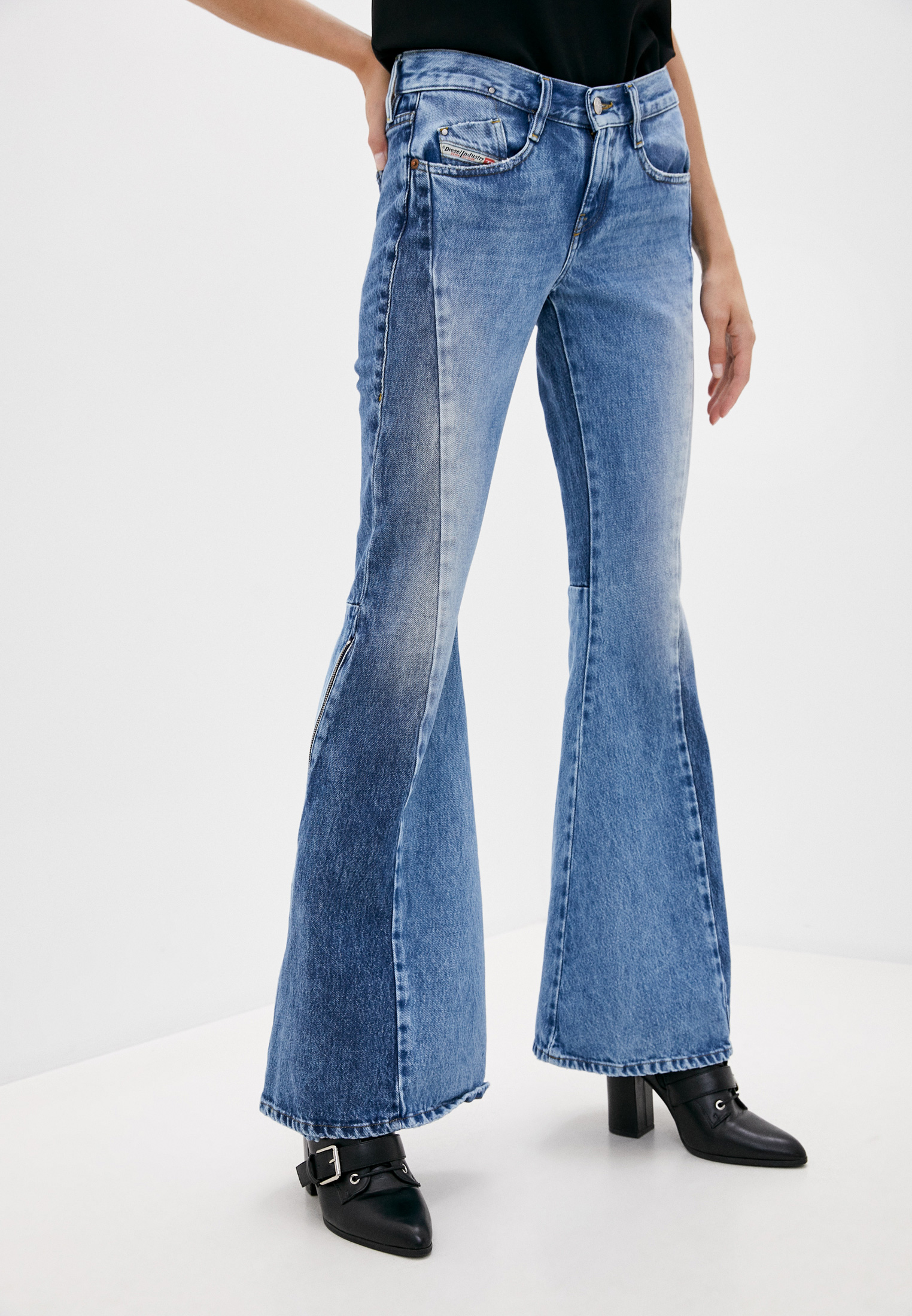 Широкие и расклешенные джинсы Diesel (Дизель) A00719009JD