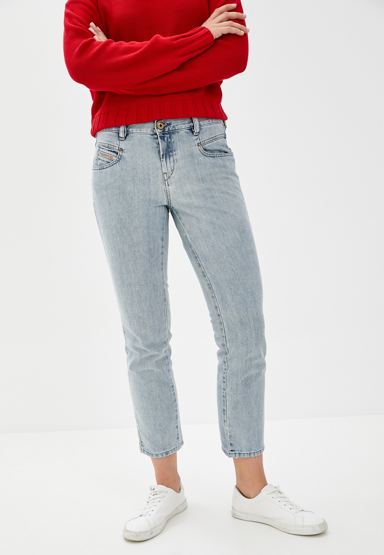 Прямые джинсы Diesel (Дизель) 00SY4S084FC