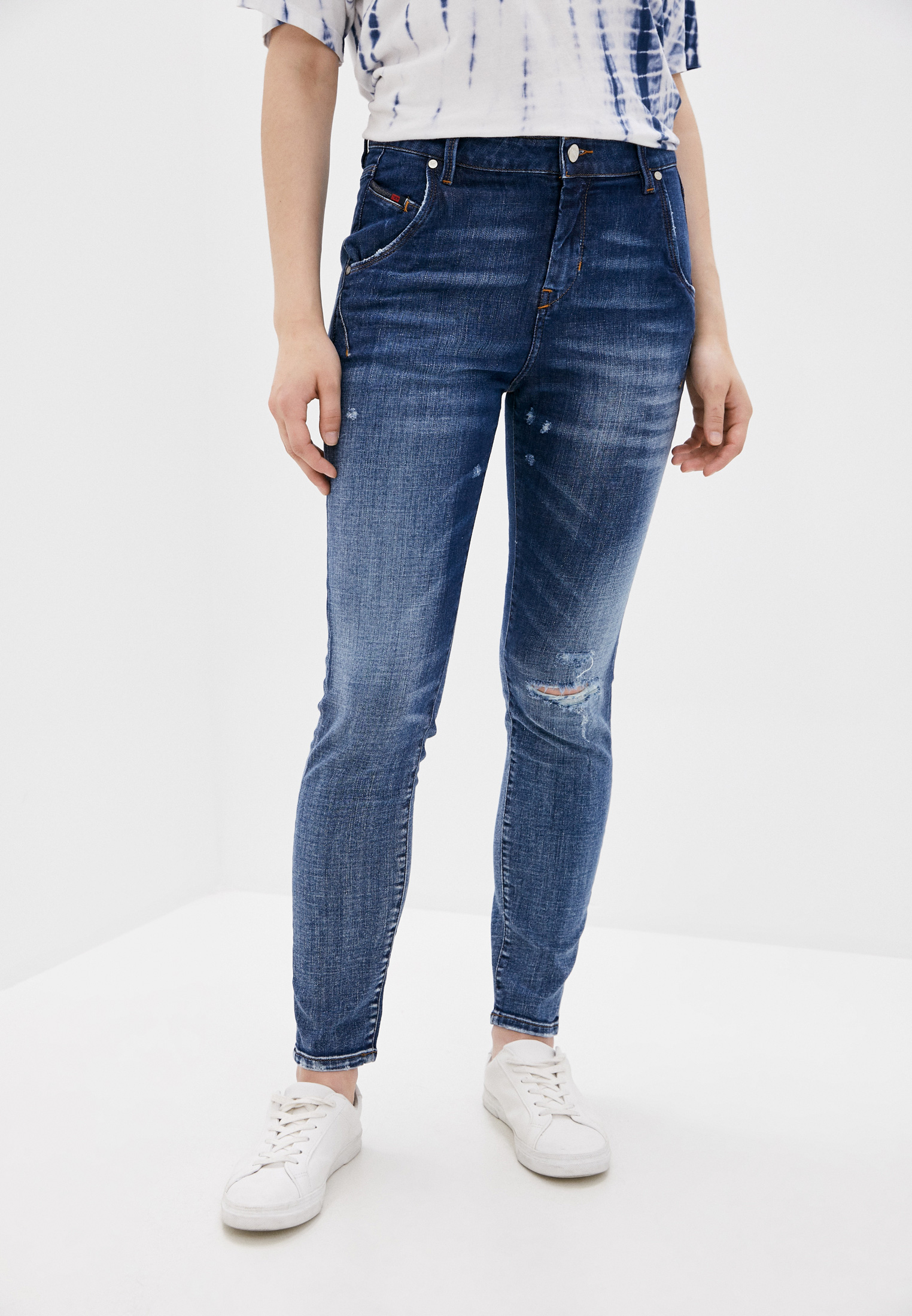 Зауженные джинсы Diesel (Дизель) 00SRIY084TW