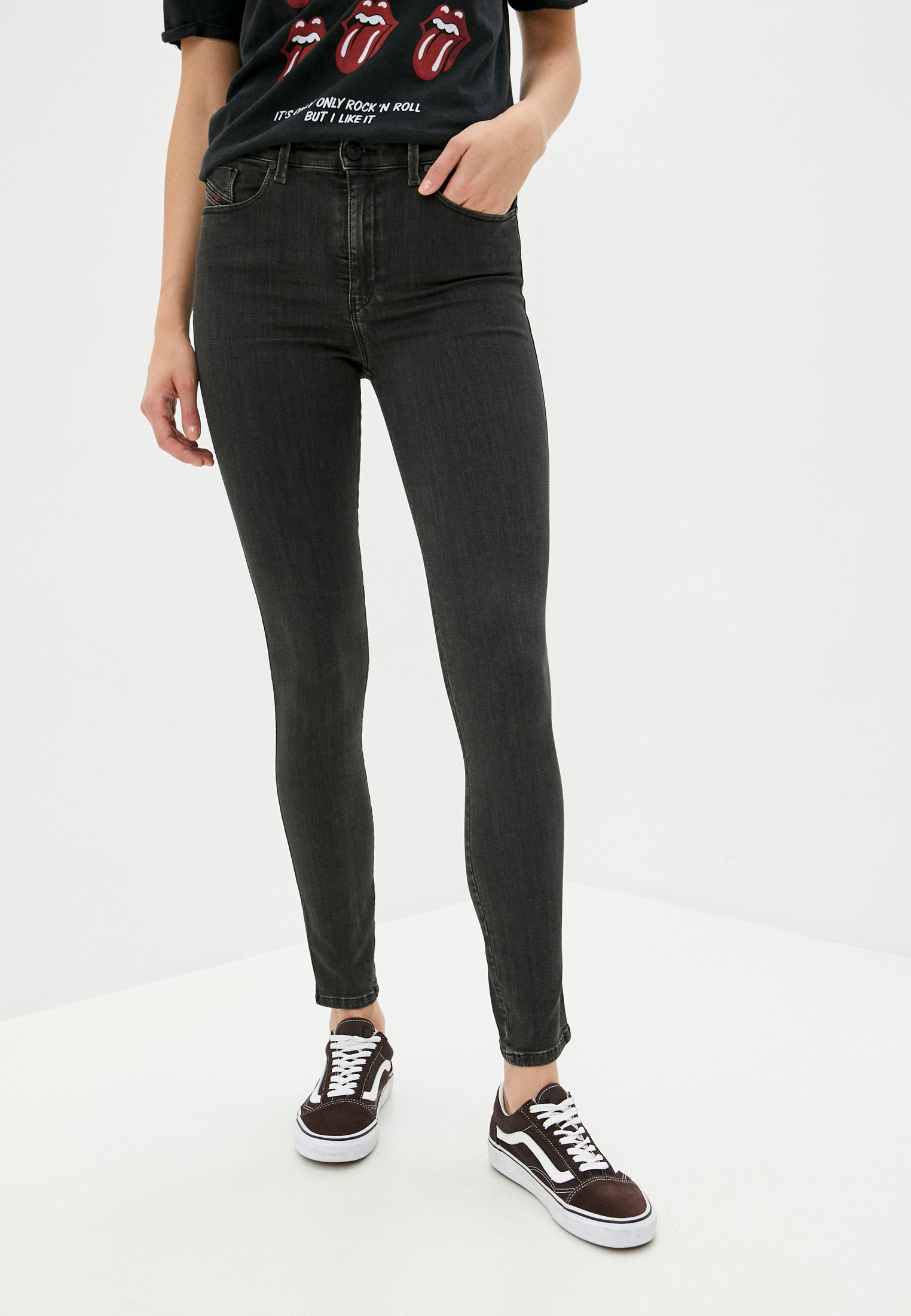 Зауженные джинсы Diesel (Дизель) 00S4KGR8W69