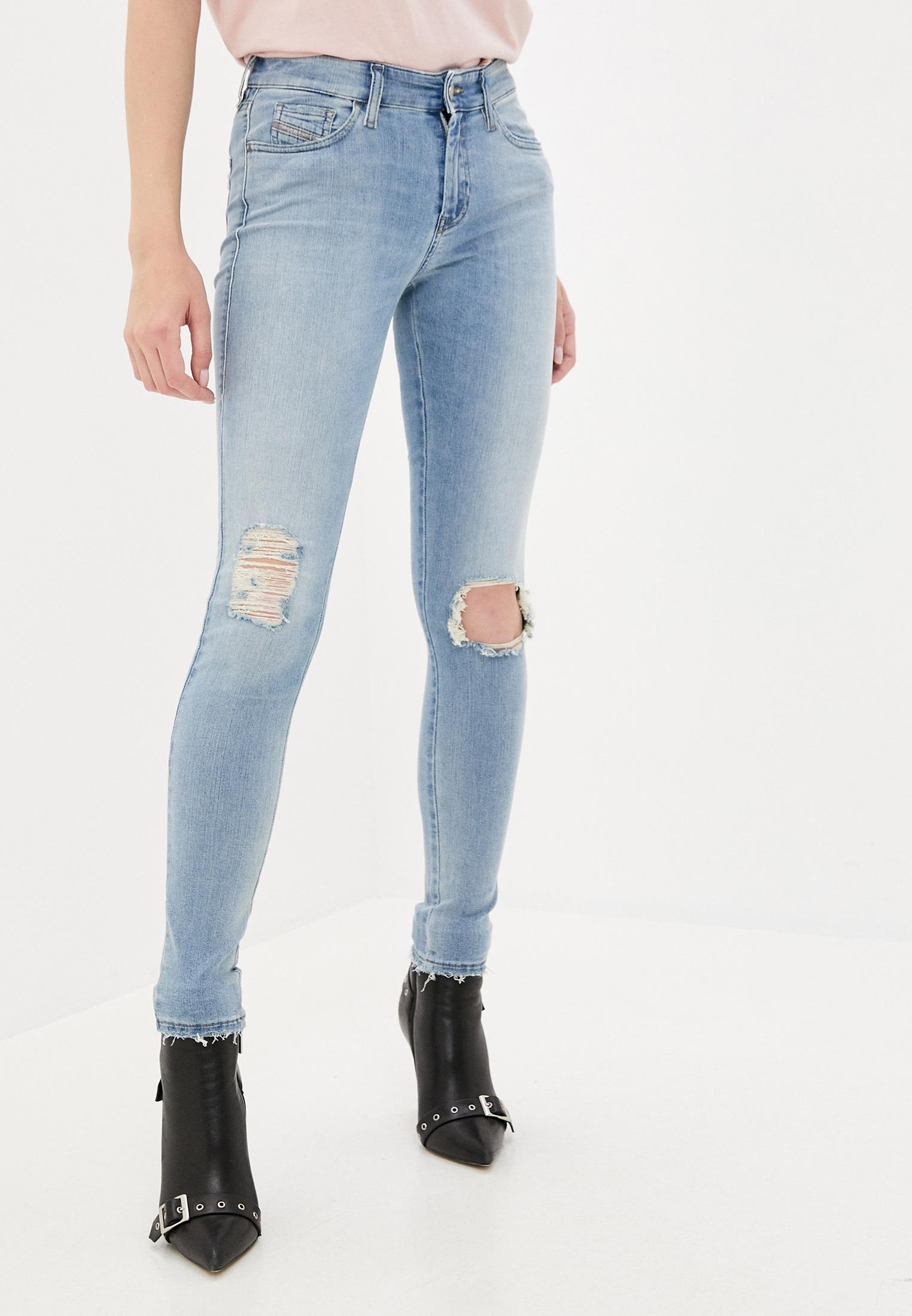Зауженные джинсы Diesel (Дизель) 00SXJN084MT