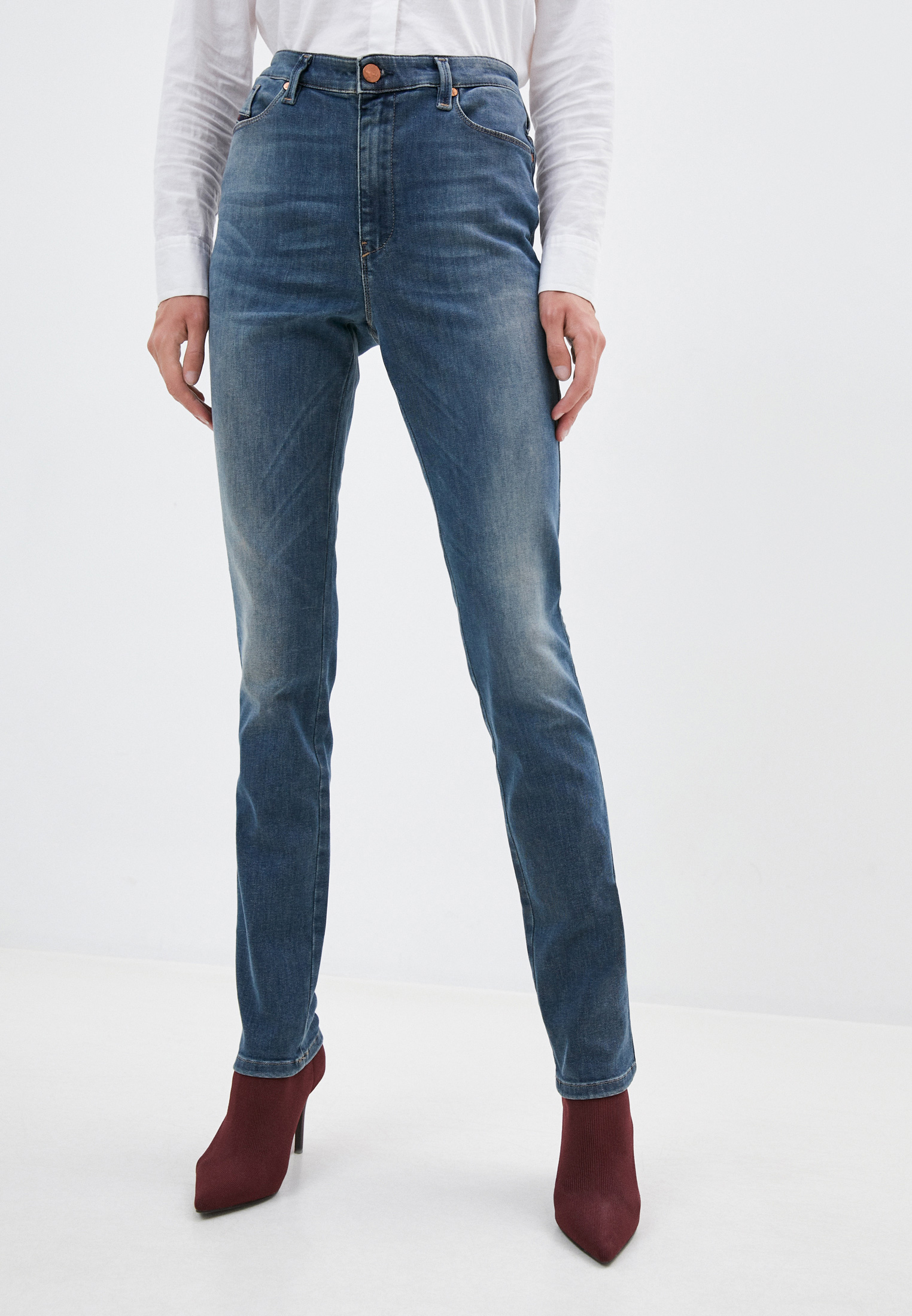 Зауженные джинсы Diesel (Дизель) 00S54AV084RY