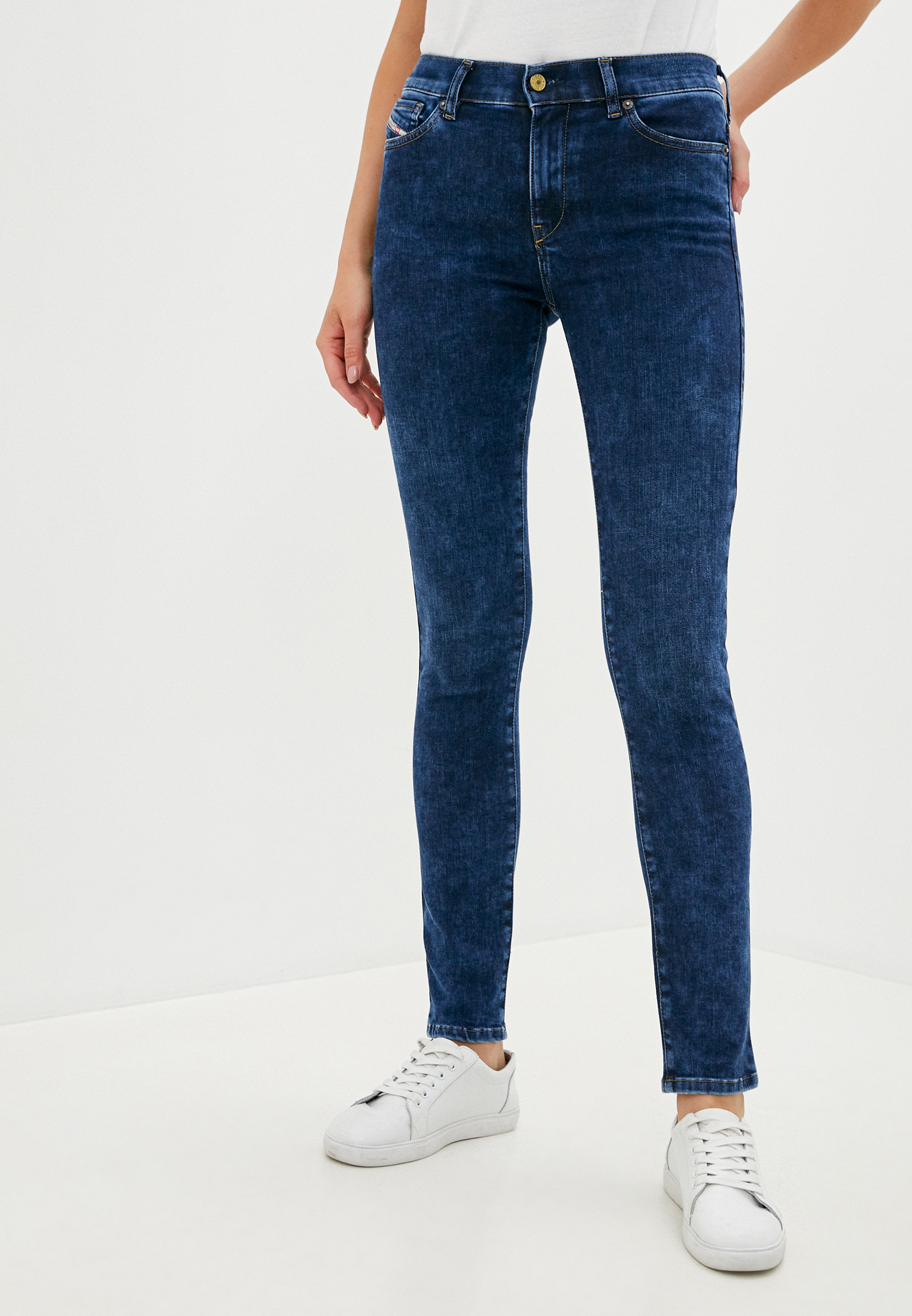 Зауженные джинсы Diesel (Дизель) 00STRN009CY