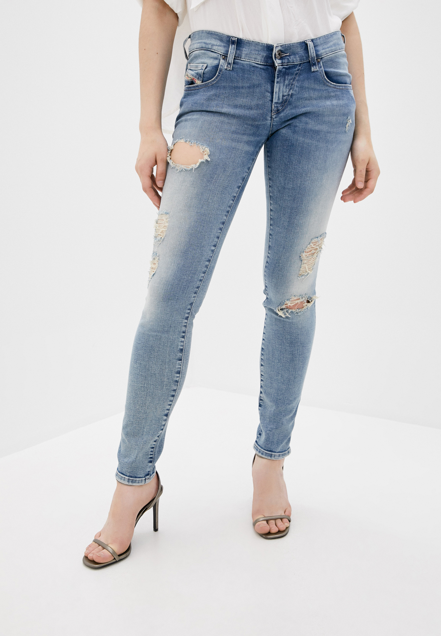 Зауженные джинсы Diesel (Дизель) 00SDNNR51Y8