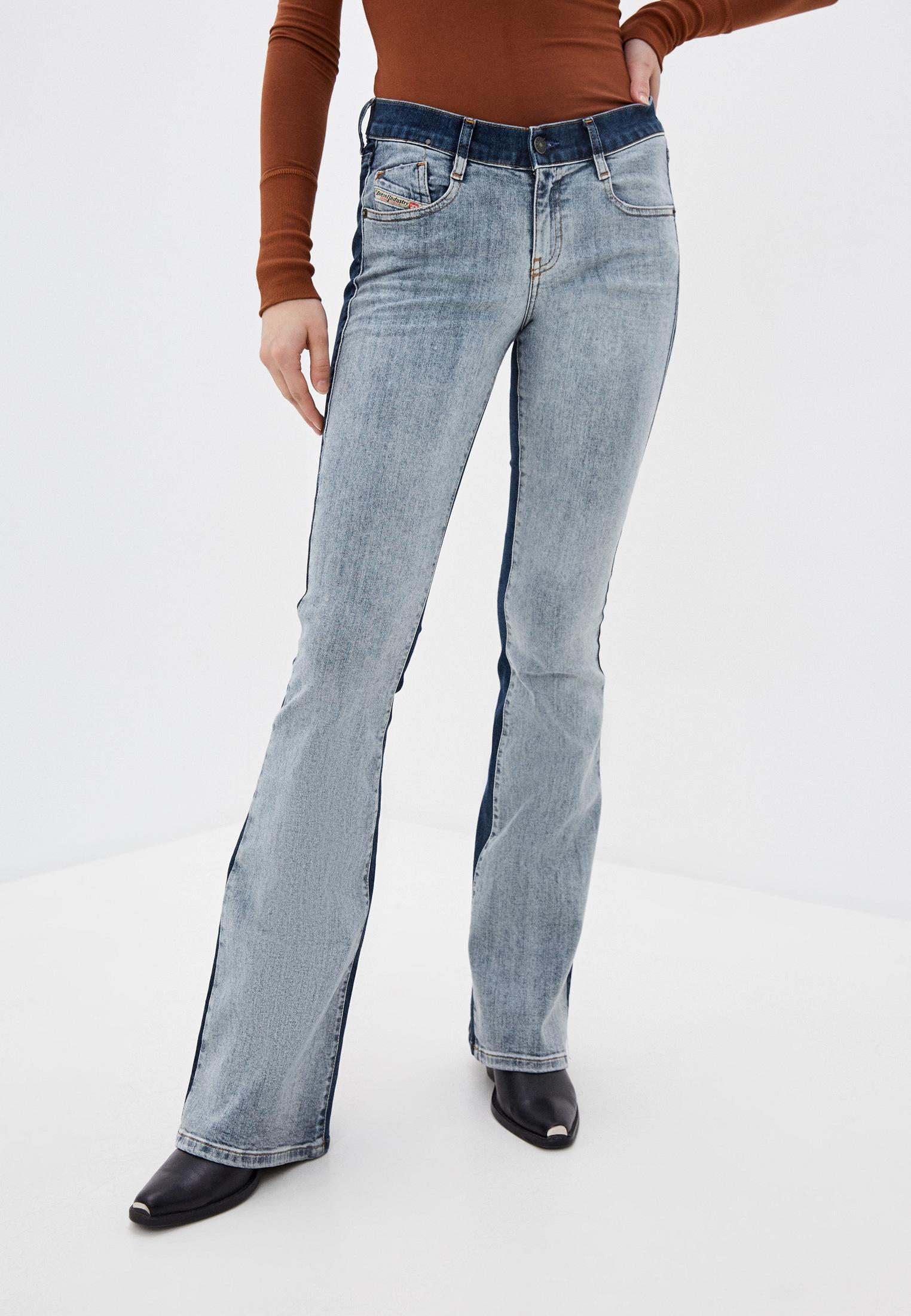 Широкие и расклешенные джинсы Diesel (Дизель) 00SXHL069GR
