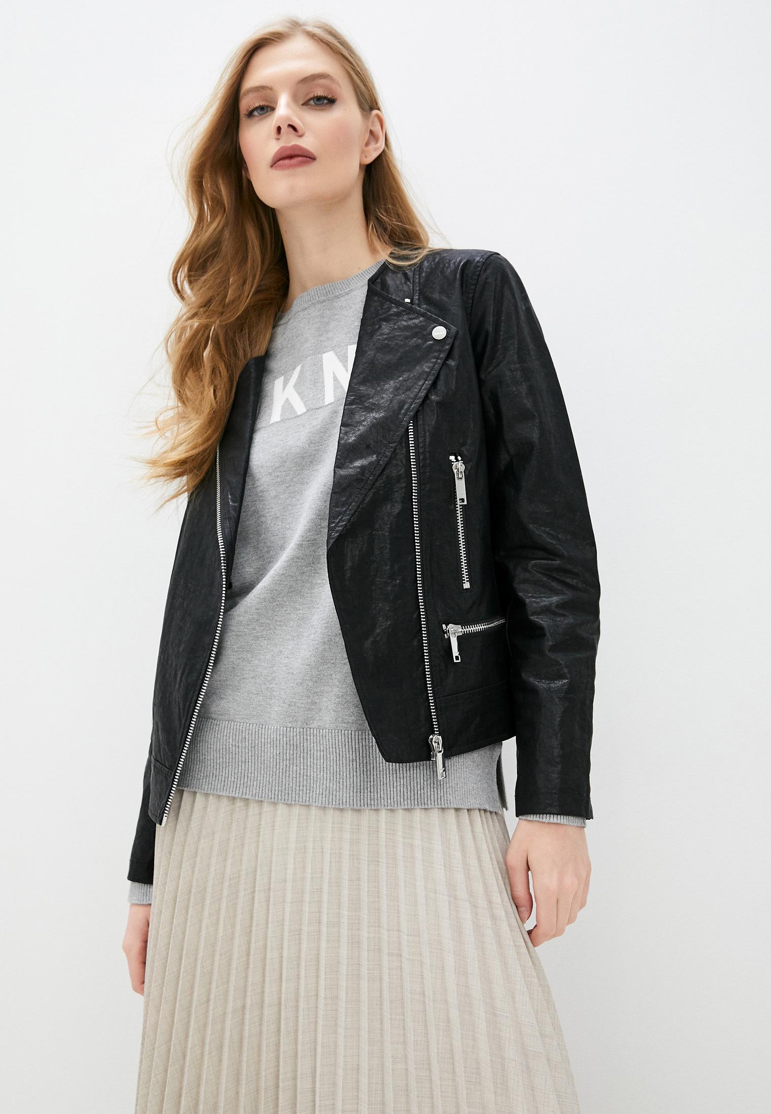 Кожаная куртка DKNY P0AJSEVA