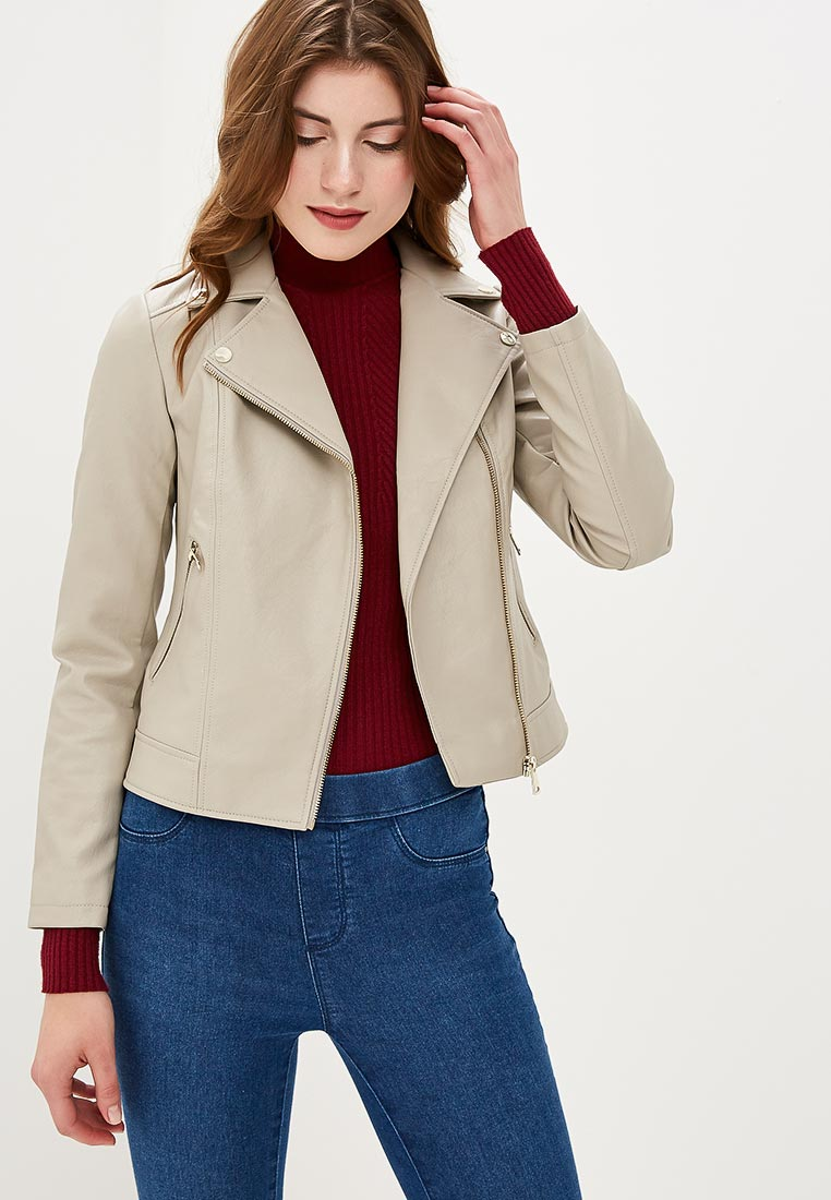 Кожаная куртка Dorothy Perkins (Дороти Перкинс) 92321086