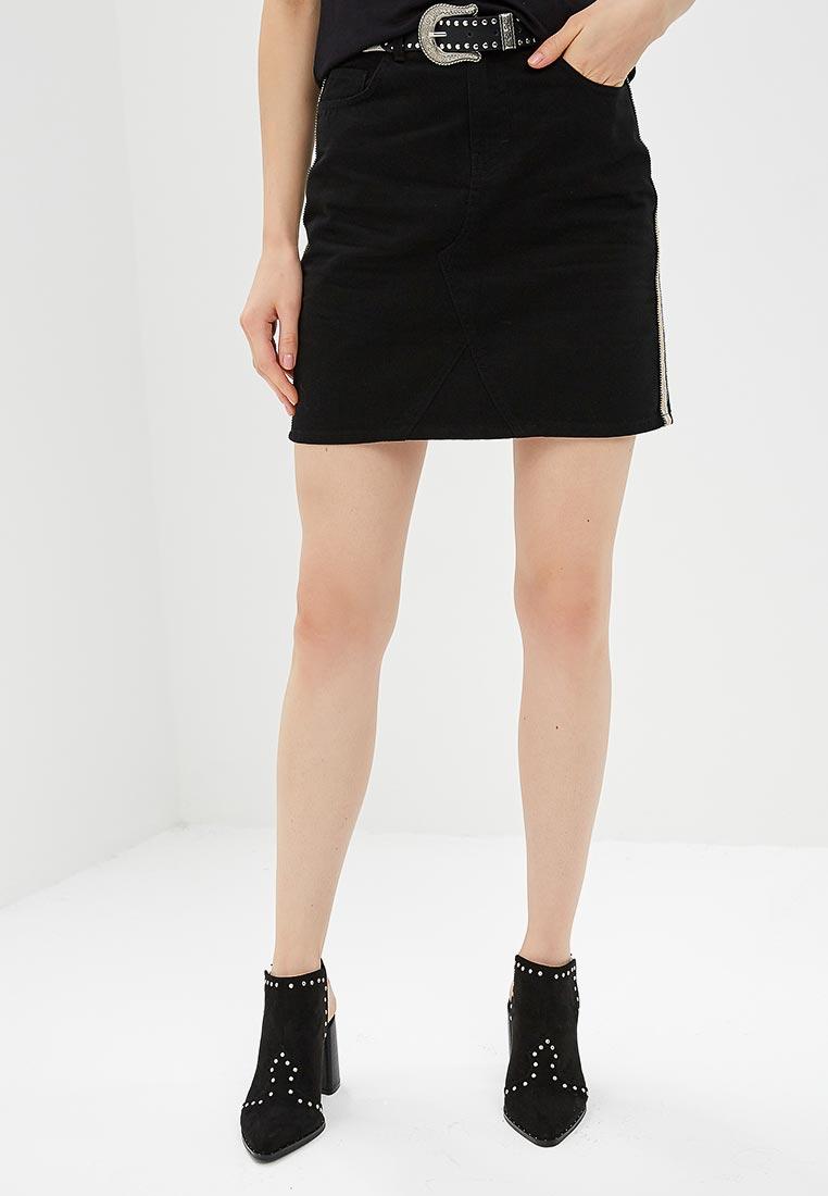 Джинсовая юбка Dorothy Perkins (Дороти Перкинс) 70543001