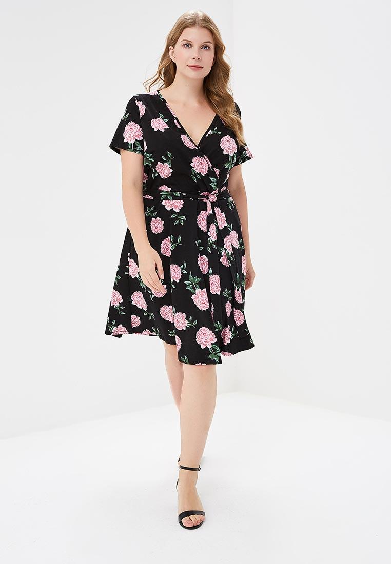 Платье-миди Dorothy Perkins Curve (Дороти Перкинс Курве) 3158901