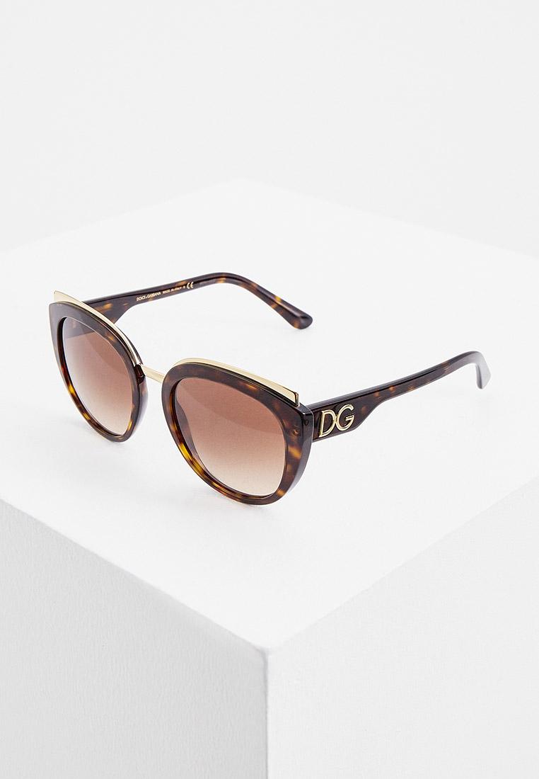 Женские солнцезащитные очки Dolce&Gabbana 0DG4383