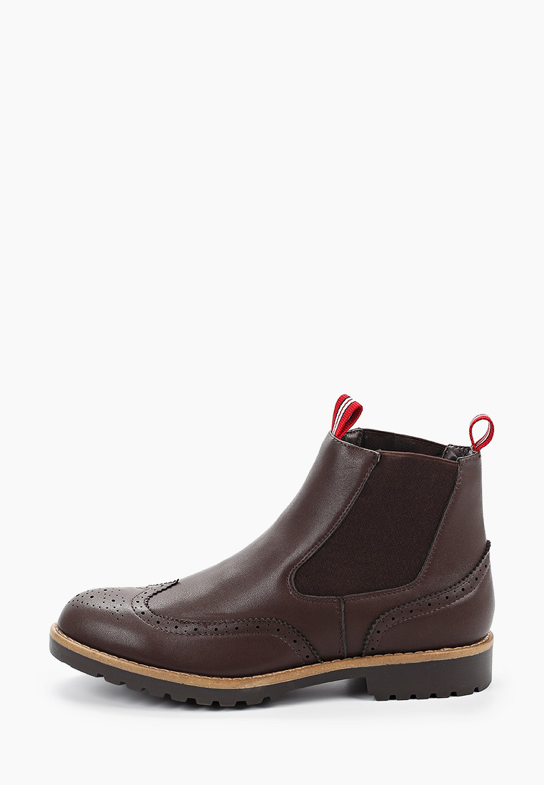 Мужские ботинки Duca di Morrone WILFRED_DARKBROWN