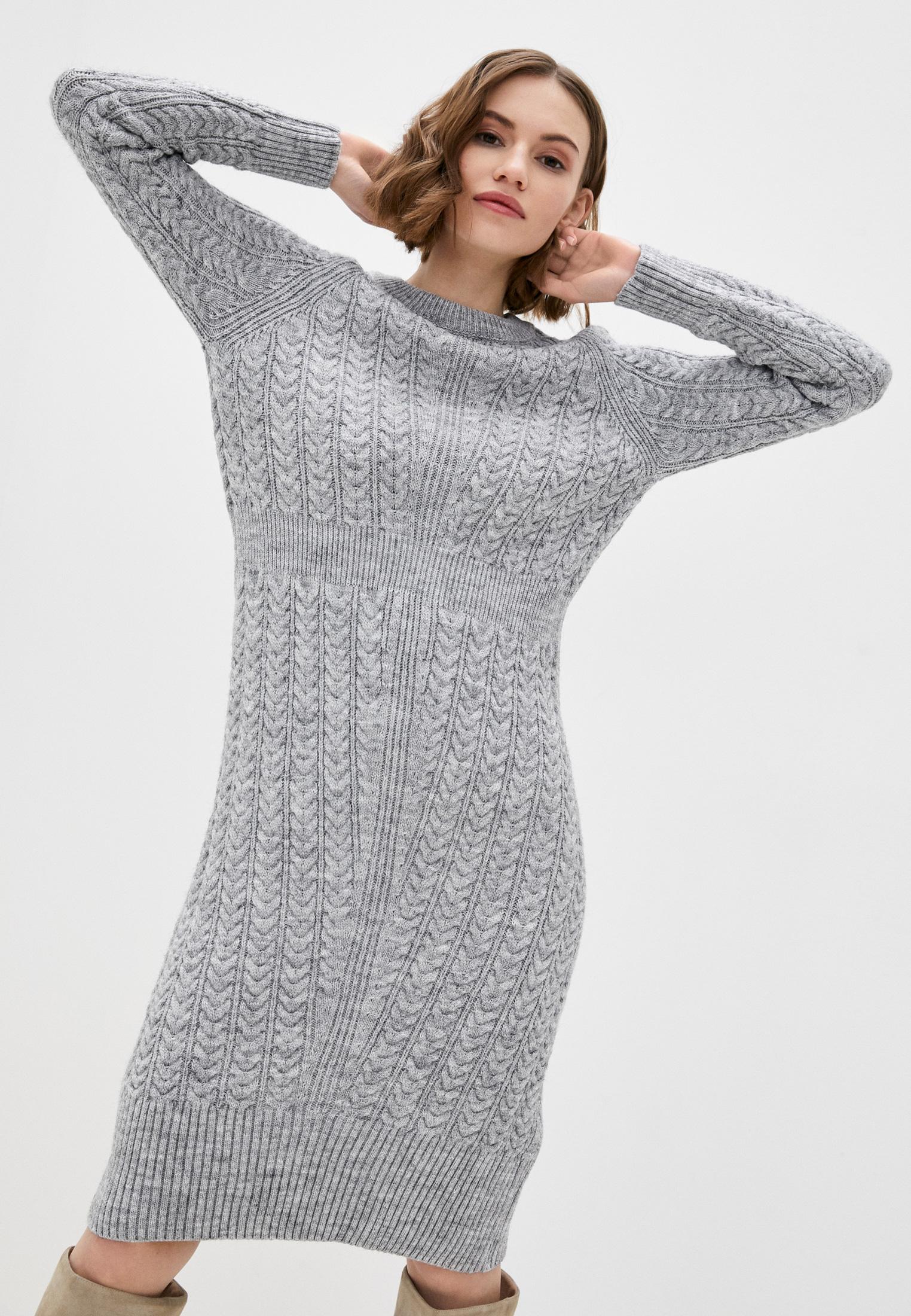 Вязаное платье Dunia 130-8