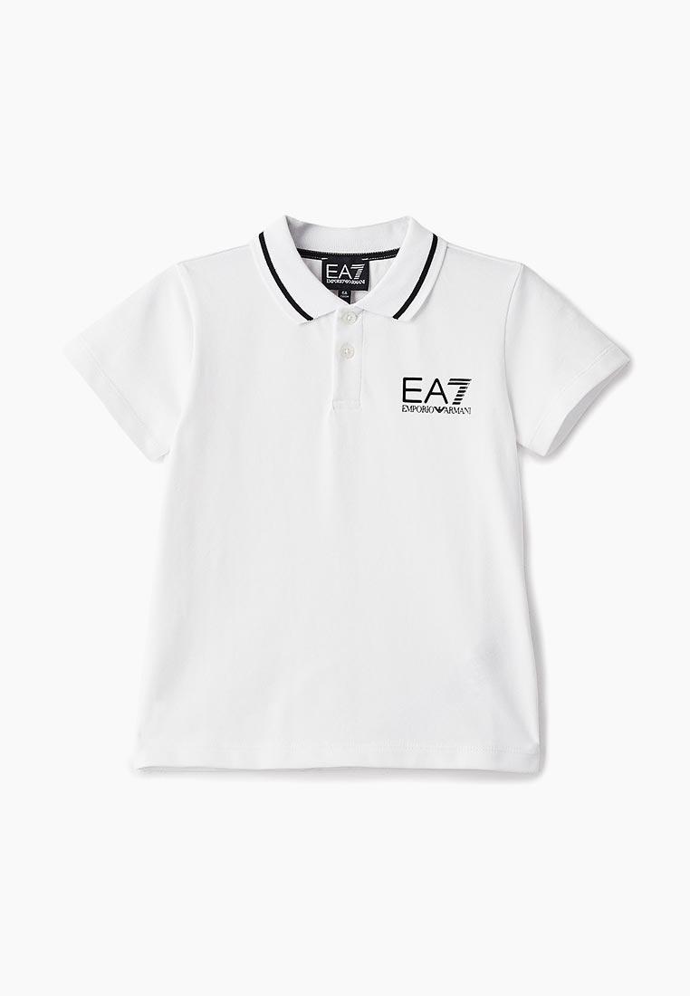 Поло для мальчиков EA7 6ZBF53 BJ04Z