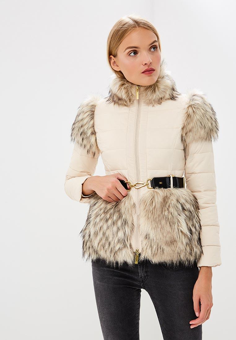 Утепленная куртка Elisabetta Franchi PI06H86E2