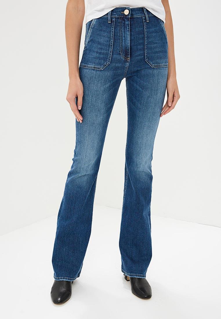 Широкие и расклешенные джинсы Elisabetta Franchi PJ10I86E2