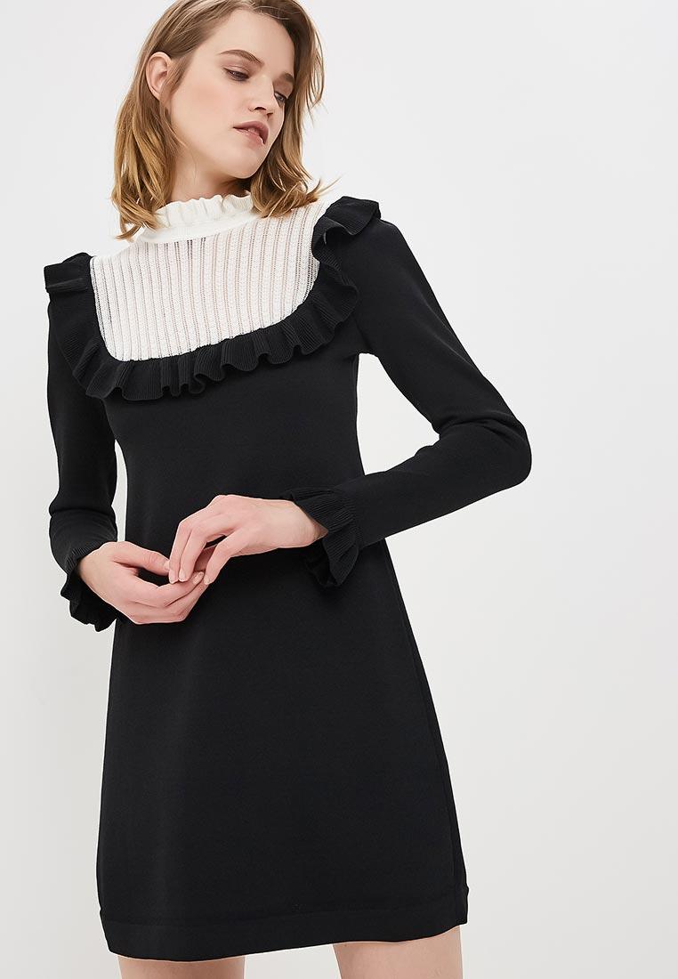 Вязаное платье Elisabetta Franchi AM15M87E2