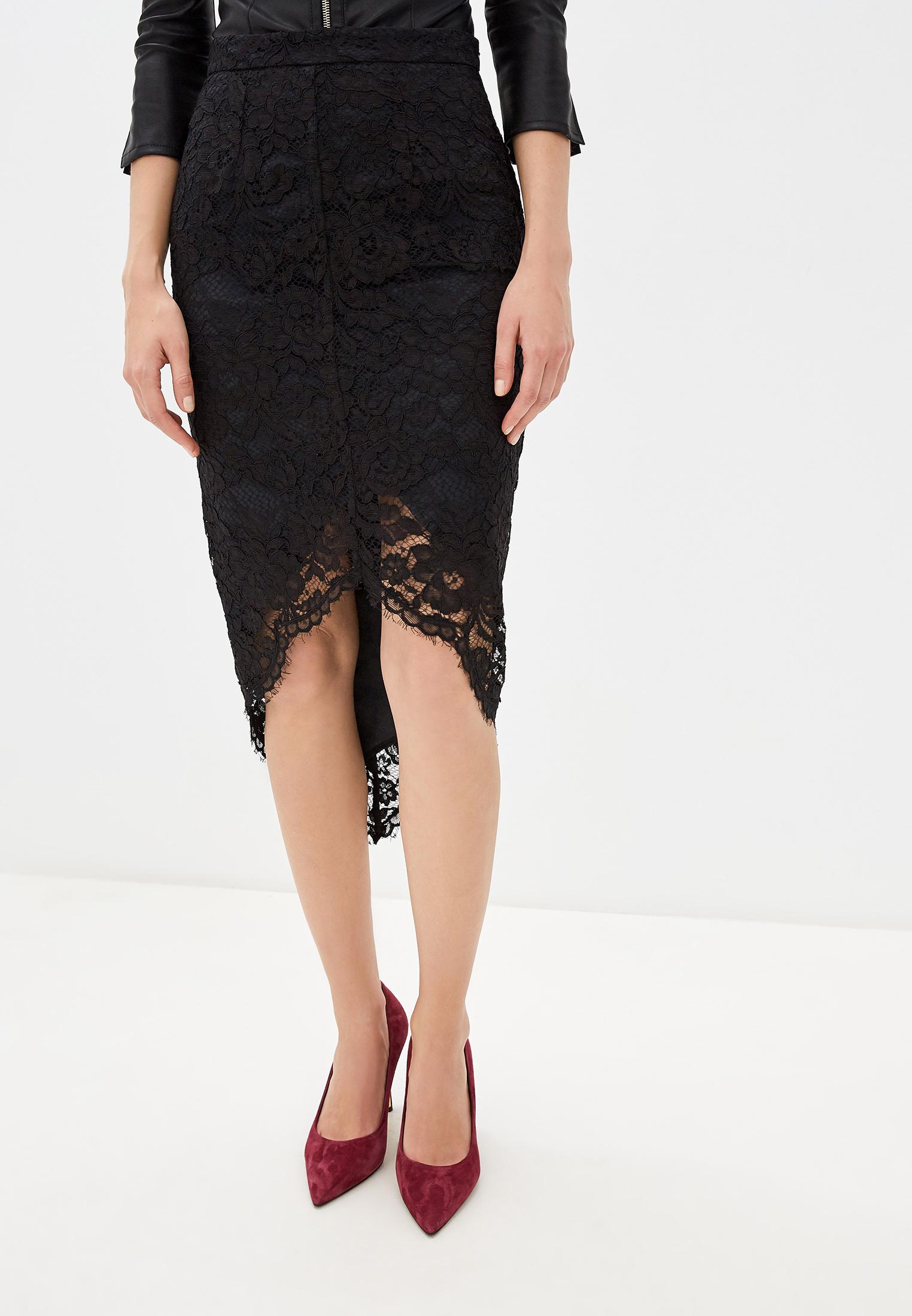 Прямая юбка Elisabetta Franchi GO32597E2