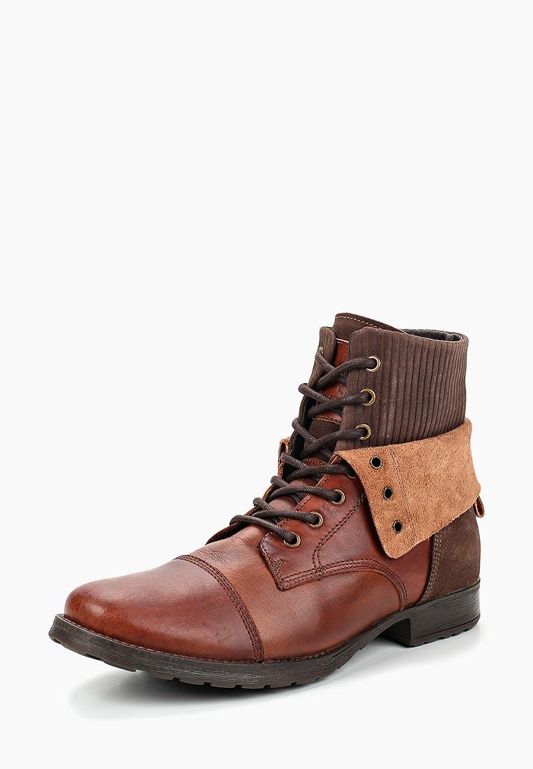 Мужские ботинки El Tempo PFS6_R585_BORDO