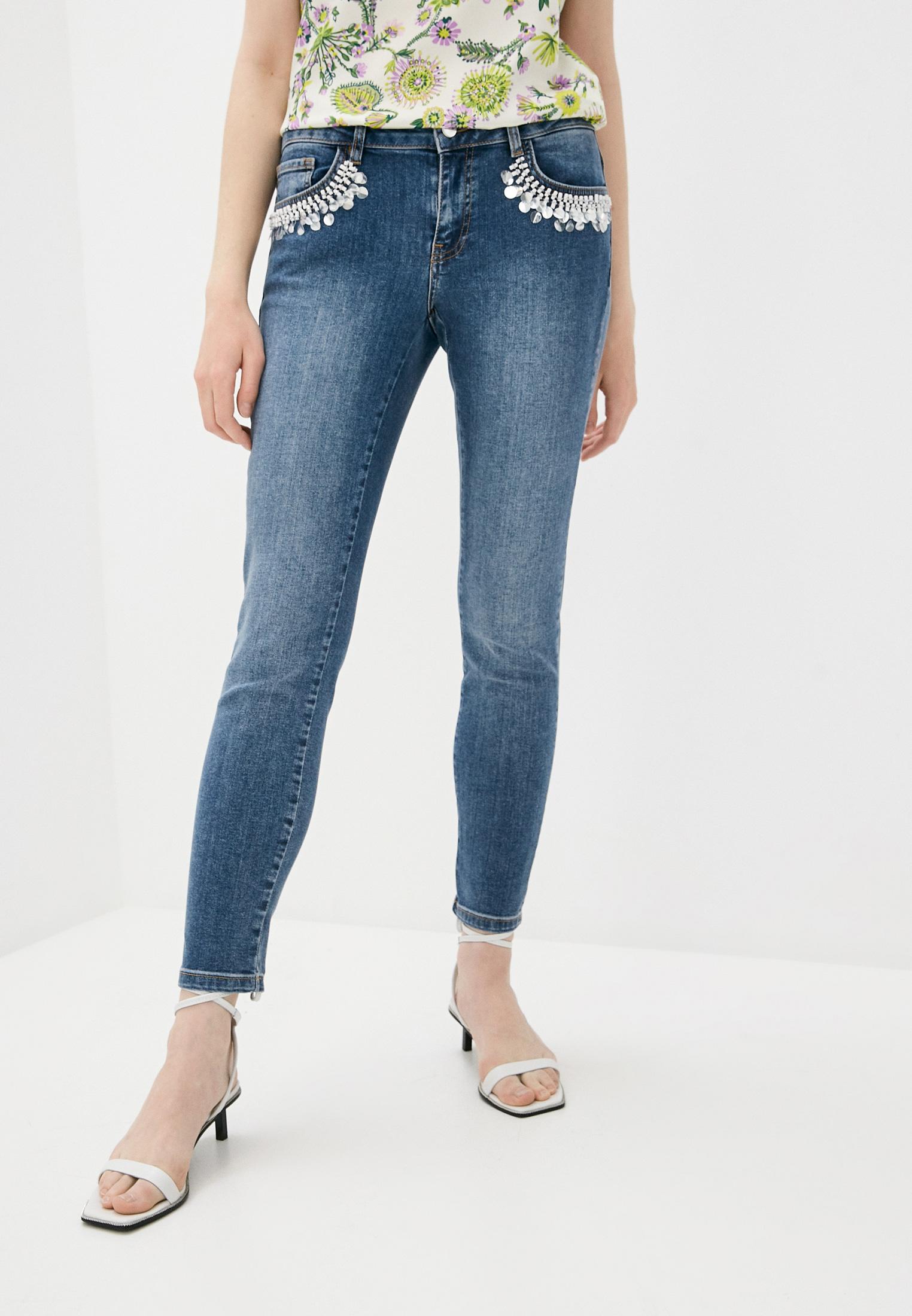 Зауженные джинсы EMME MARELLA 51810315200