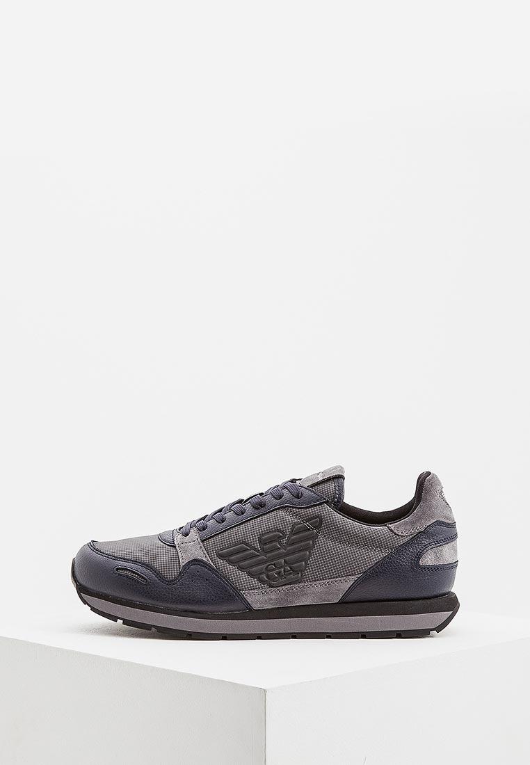 Мужские кроссовки Emporio Armani x4x215 xl454