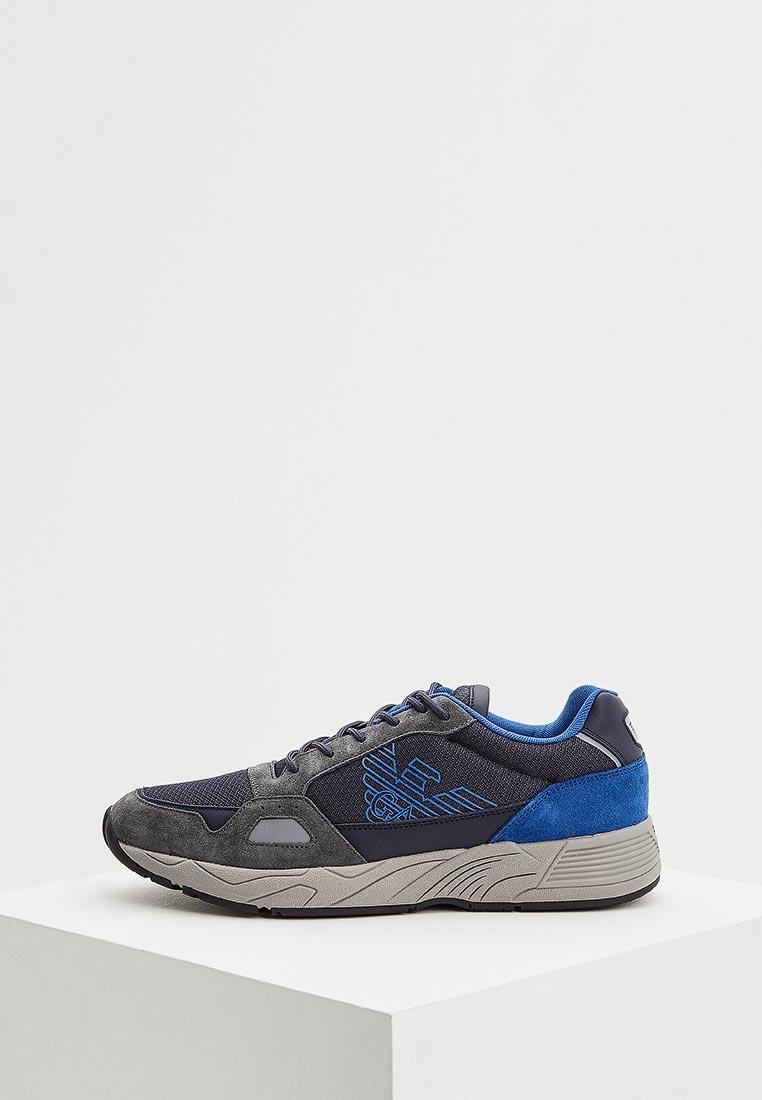 Мужские кроссовки Emporio Armani x4x245 xl464
