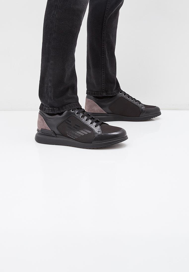 Мужские кроссовки Emporio Armani x4c518 xl453