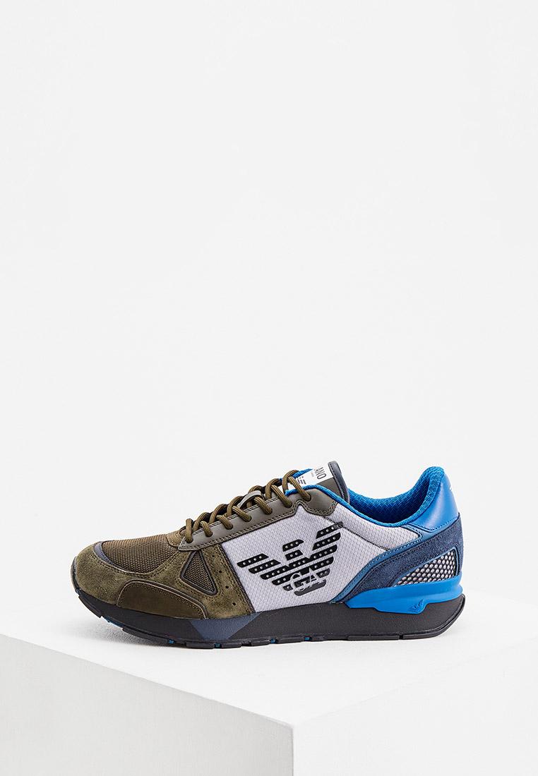 Мужские кроссовки Emporio Armani (Эмпорио Армани) x4x289 xm499