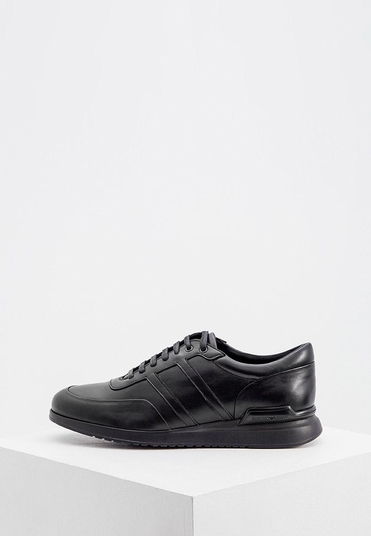 Мужские кроссовки Emporio Armani (Эмпорио Армани) X4C499 XF176
