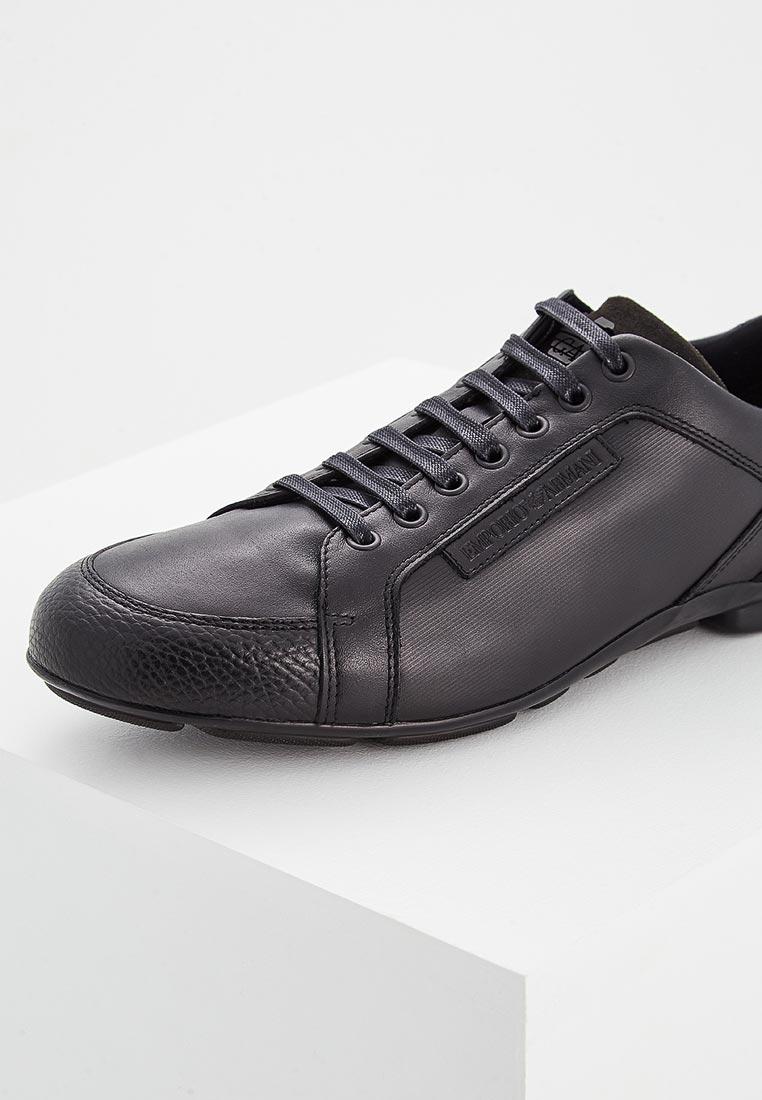 Мужские кроссовки Emporio Armani X4C468 XL021: изображение 11