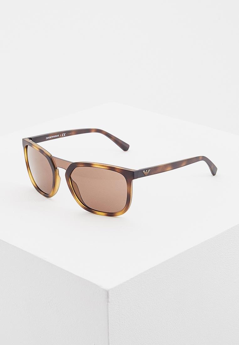 Мужские солнцезащитные очки Emporio Armani 0EA4123