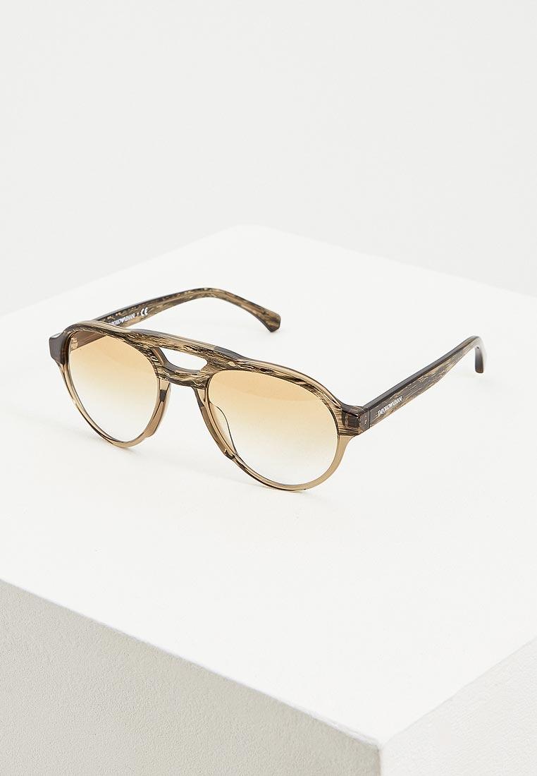 Мужские солнцезащитные очки Emporio Armani 0EA4128