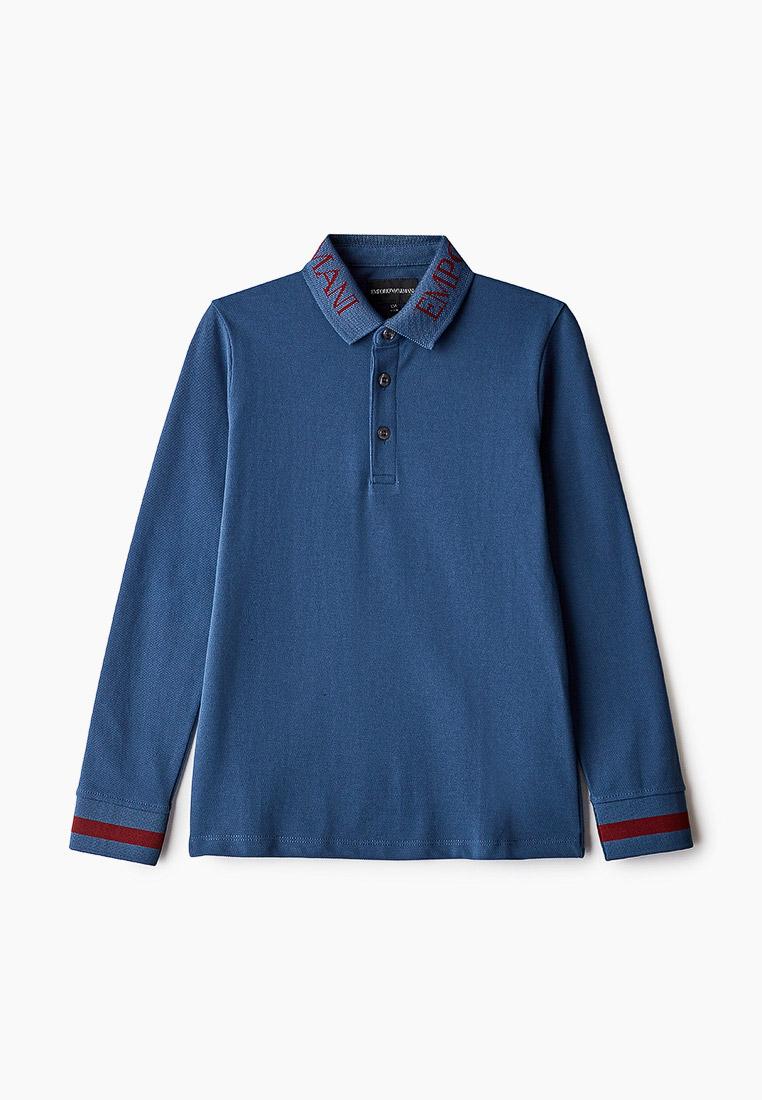 Поло футболки для мальчиков Emporio Armani (Эмпорио Армани) 6H4FJ4 1J0SZ