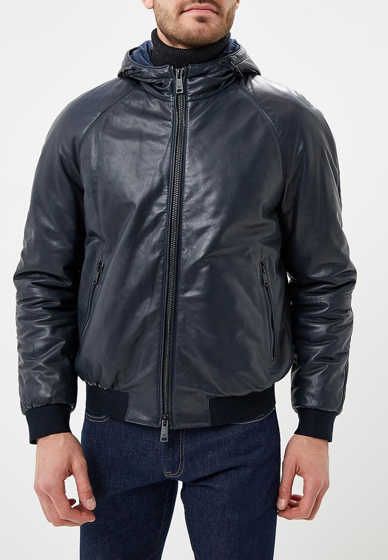Кожаная куртка Emporio Armani 11b55p 11P55