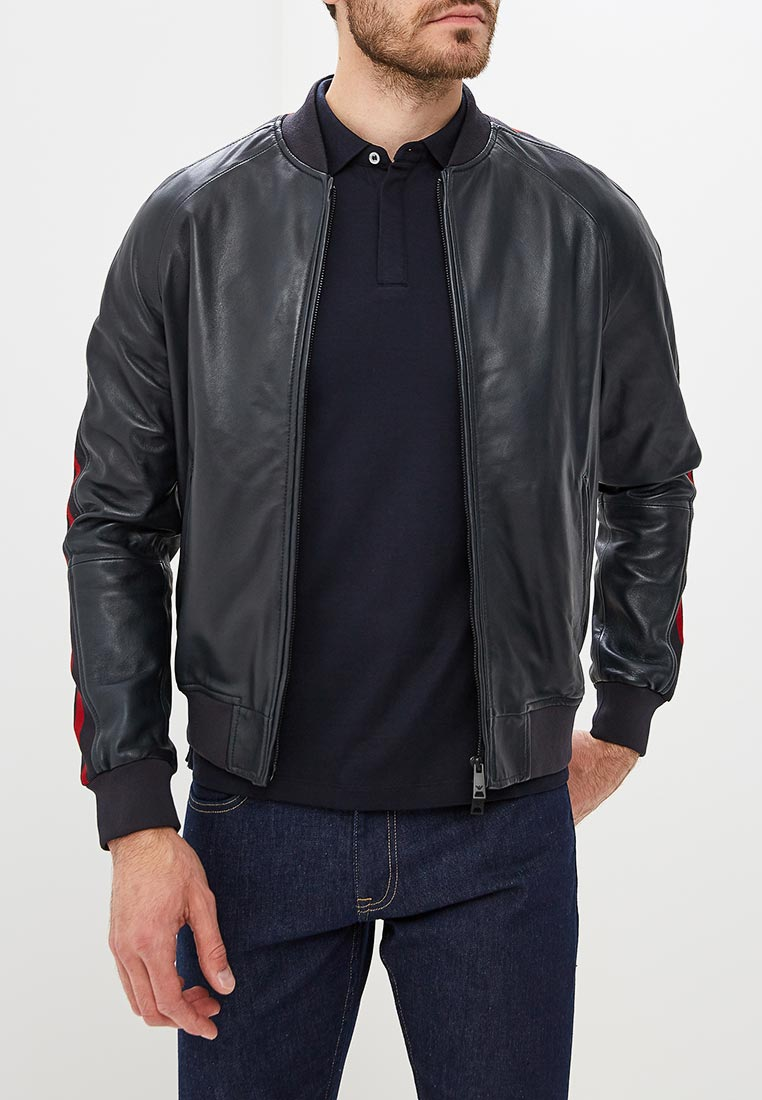Кожаная куртка Emporio Armani 11b58p 11P58