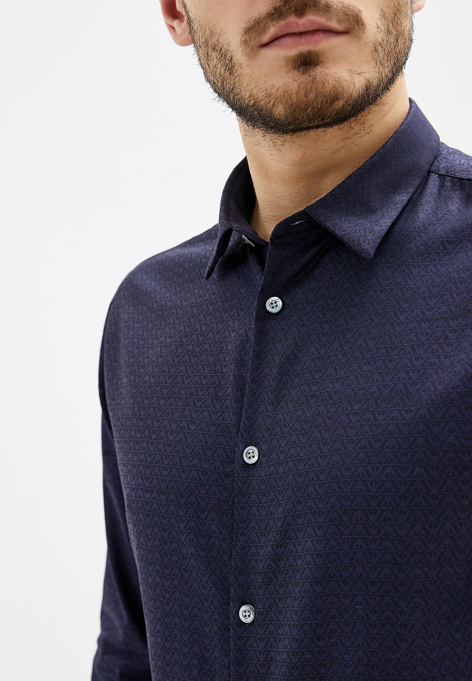 Рубашка с длинным рукавом Emporio Armani (Эмпорио Армани) 6G1C09 1N73Z: изображение 4