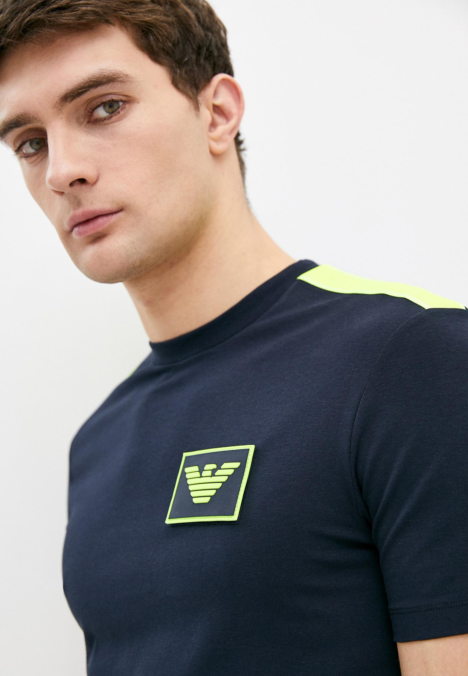Мужская футболка Emporio Armani (Эмпорио Армани) 3h1t70 1J37Z: изображение 4