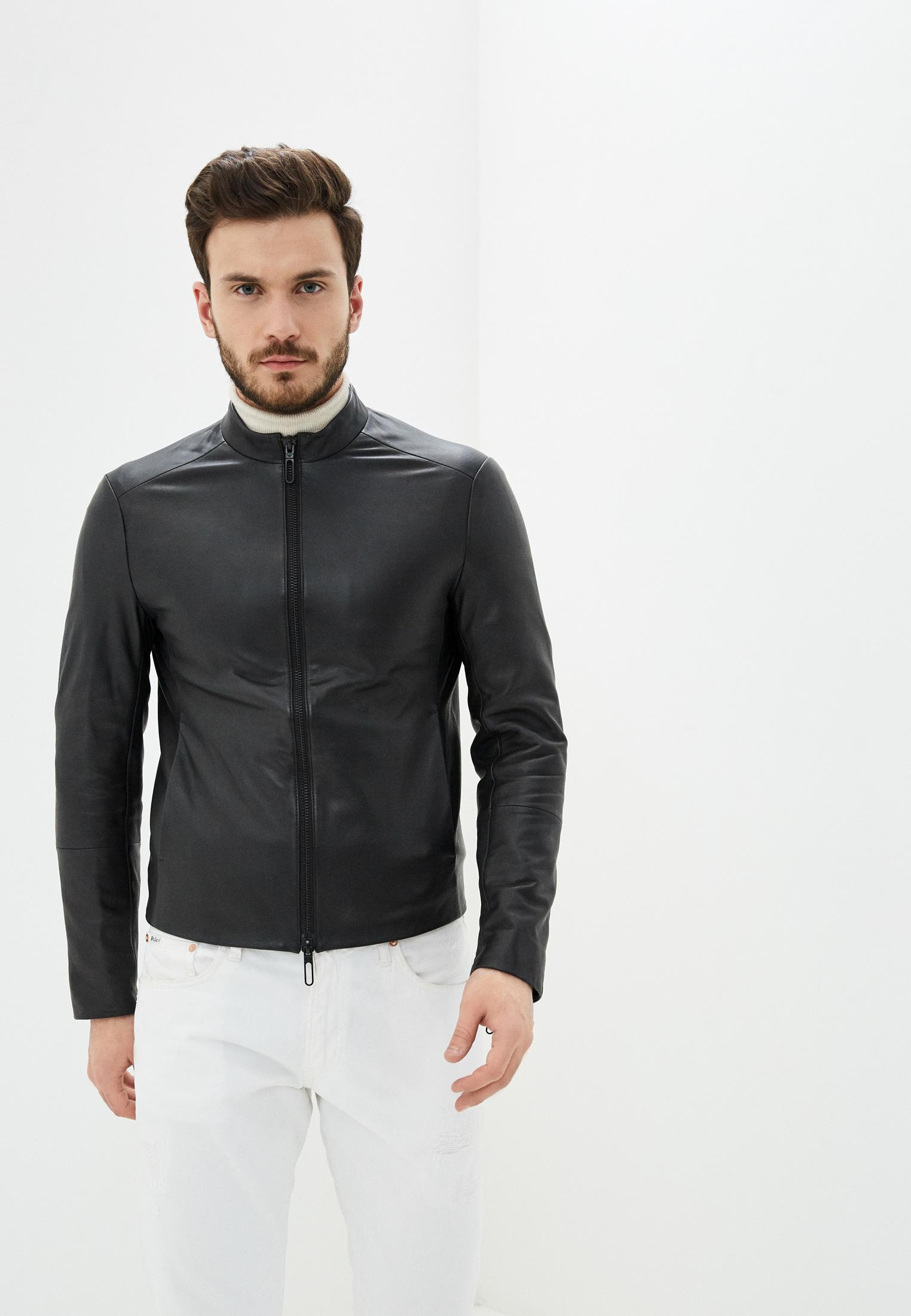 Кожаная куртка Emporio Armani 51b57p 51P57