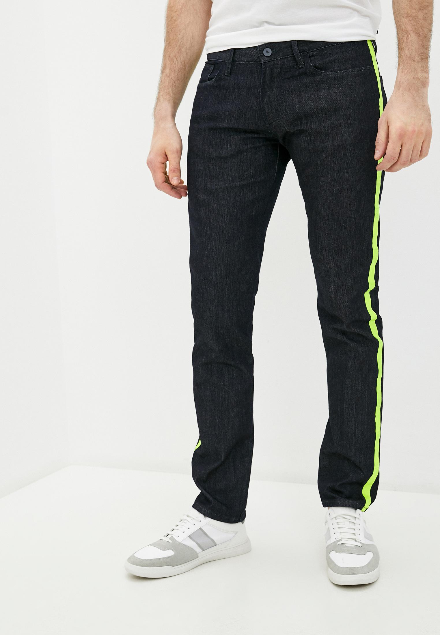 Мужские зауженные джинсы Emporio Armani (Эмпорио Армани) 3H1J06 1D9PZ